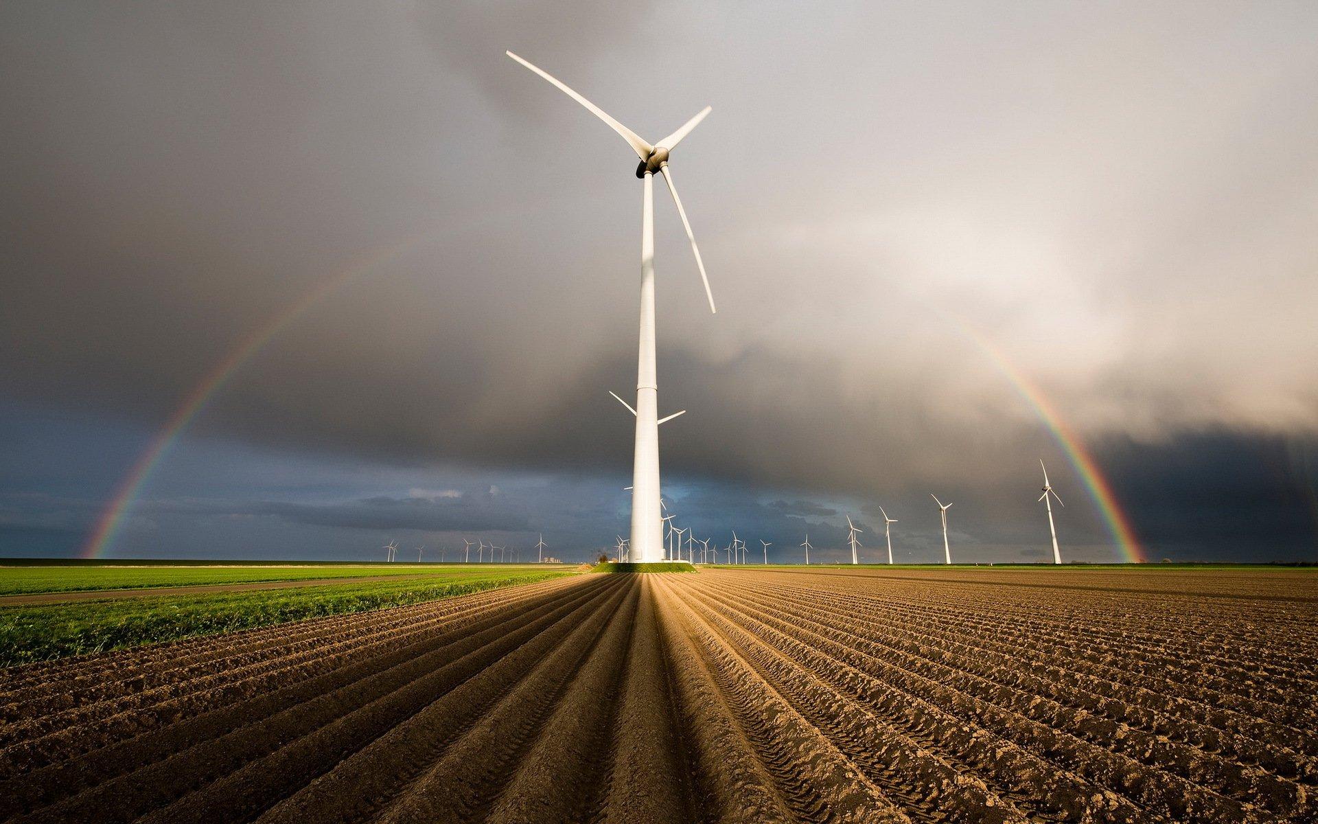 Обои ветряк. Разное foto 15