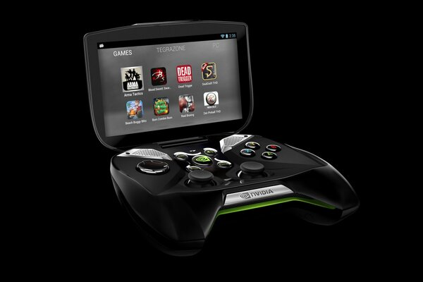 NVIDIA Shield Titanfall interface console video games high-tech high technology LCD LED technology portable portable video game game joystyc screen control Dead Trigger Blood Sword Beach Buggy Blitz B