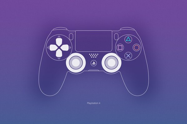 Gamepad Dualshock Console PS4