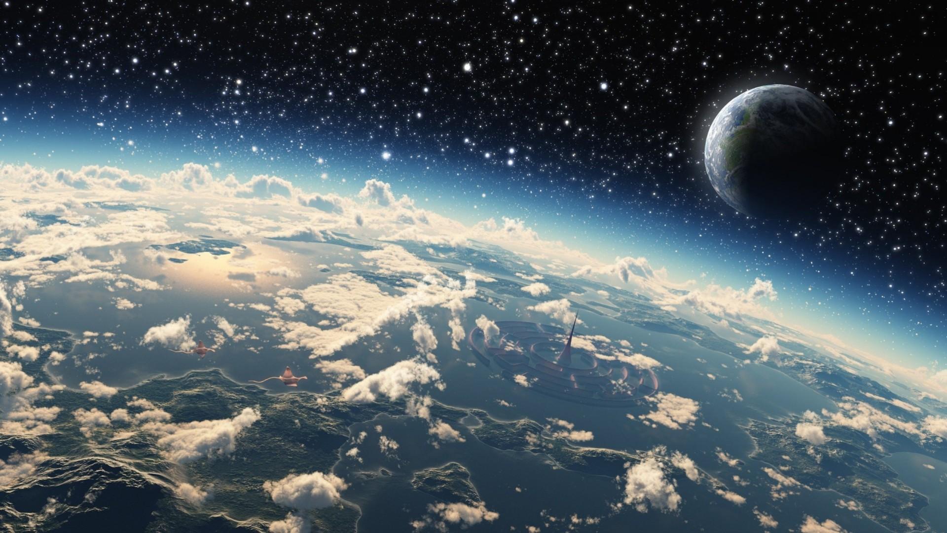 Раскраска космоса и планет японии уходит