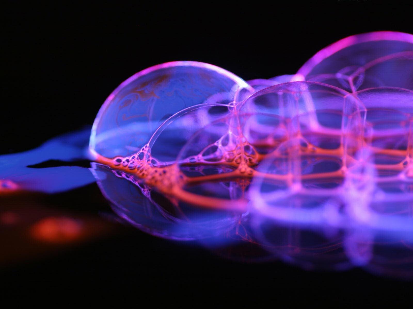 пузыри фон макро  № 3275953  скачать
