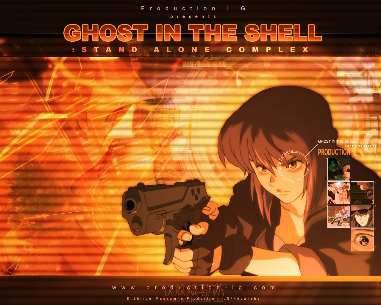ghost in the shell kusanagi motoko призрак в доспехах