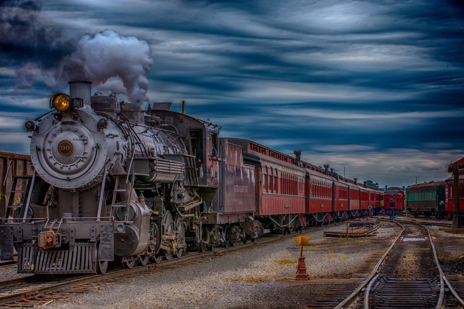 Фотографии старых поездов — pic 7