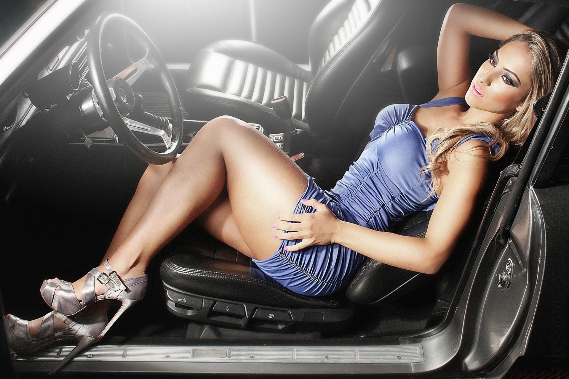 машины девушки новые секси найдет