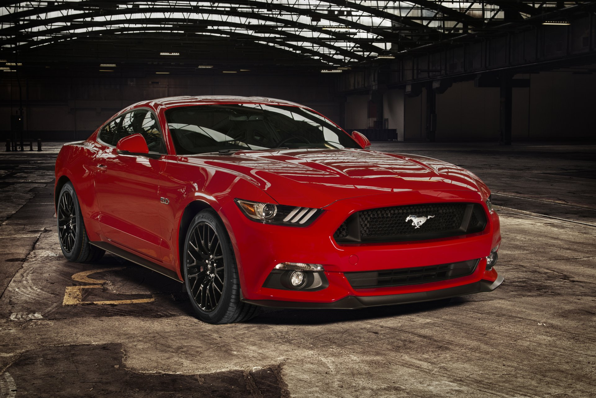 2015 Ford Mustang Coupe EU-spec форд мустанг купе
