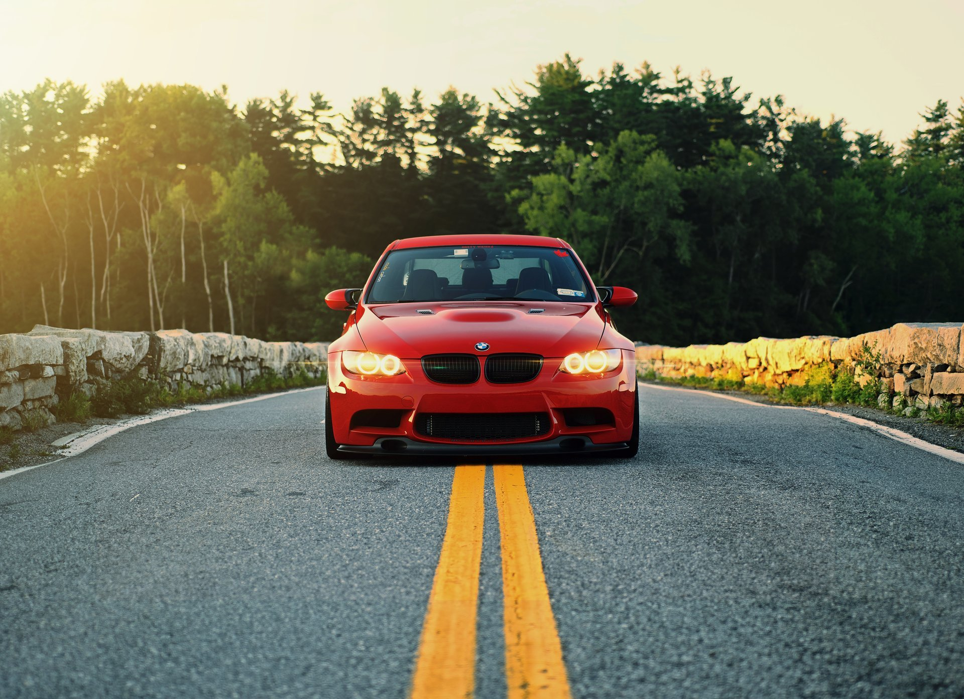 BMW E90 дорога гараж загрузить