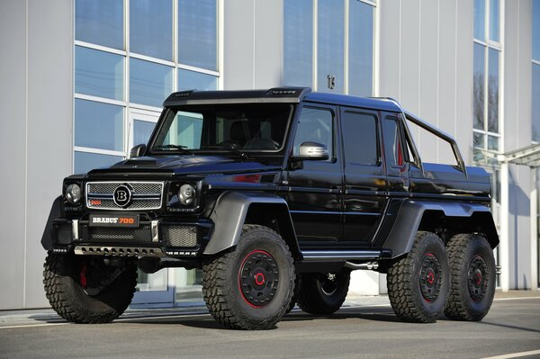 2014 brabus mercedes-benz g 63 amg 6x6 w463 мерседес брабус гелендваген гелик амг