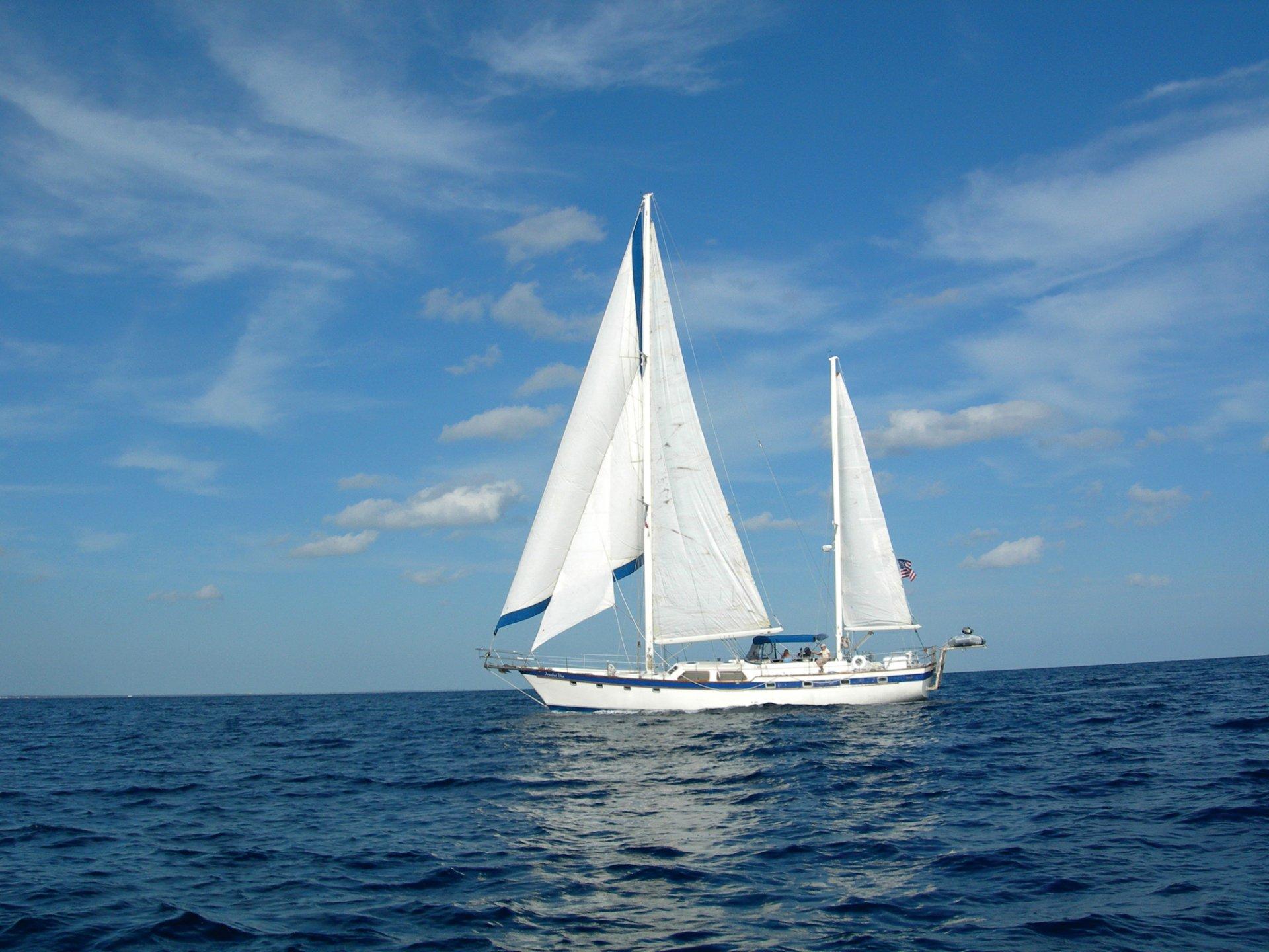 Яхта море открытка, картинки