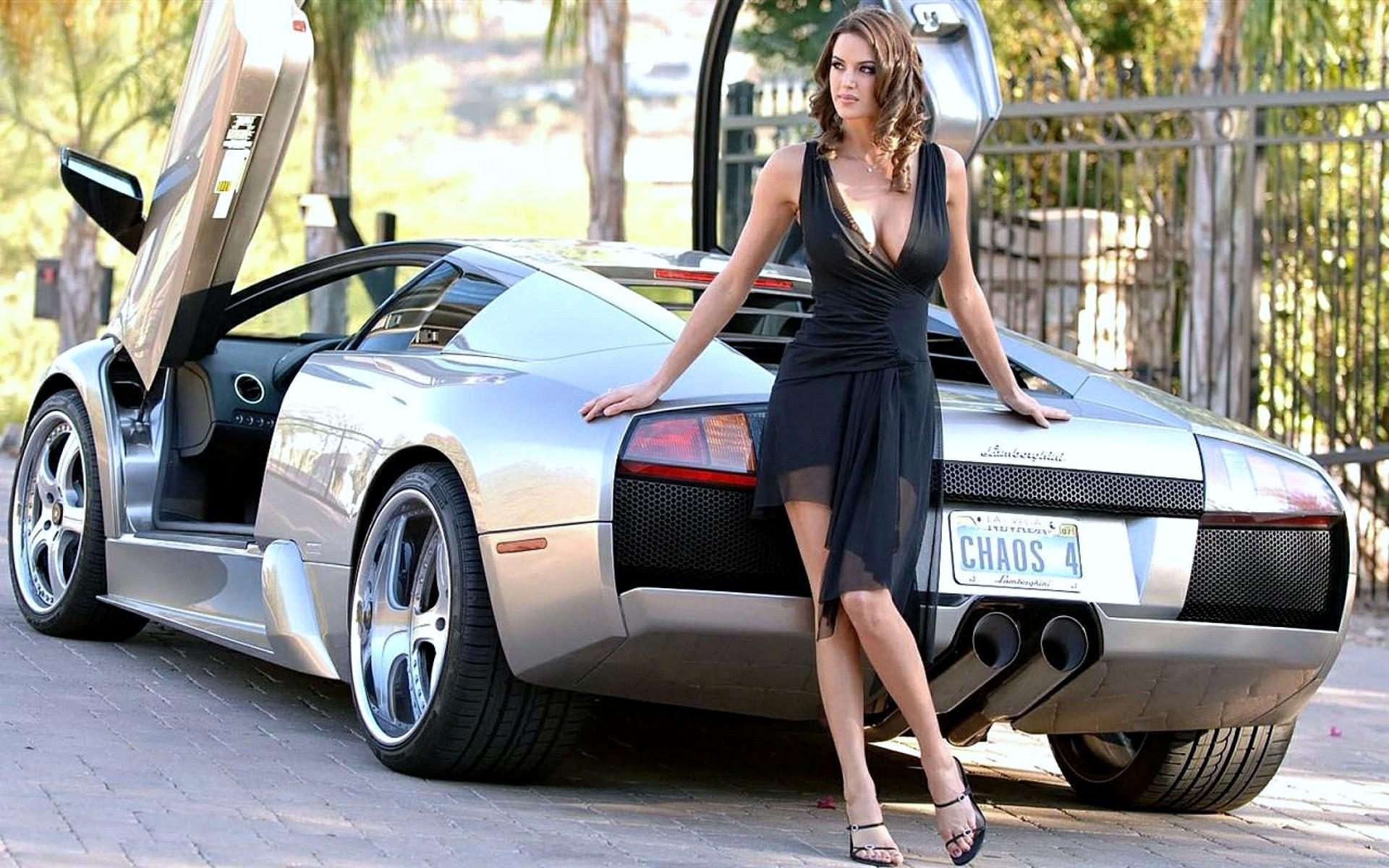 Фото авто девки, Сексуальные девушки и автомобили 23 фотография