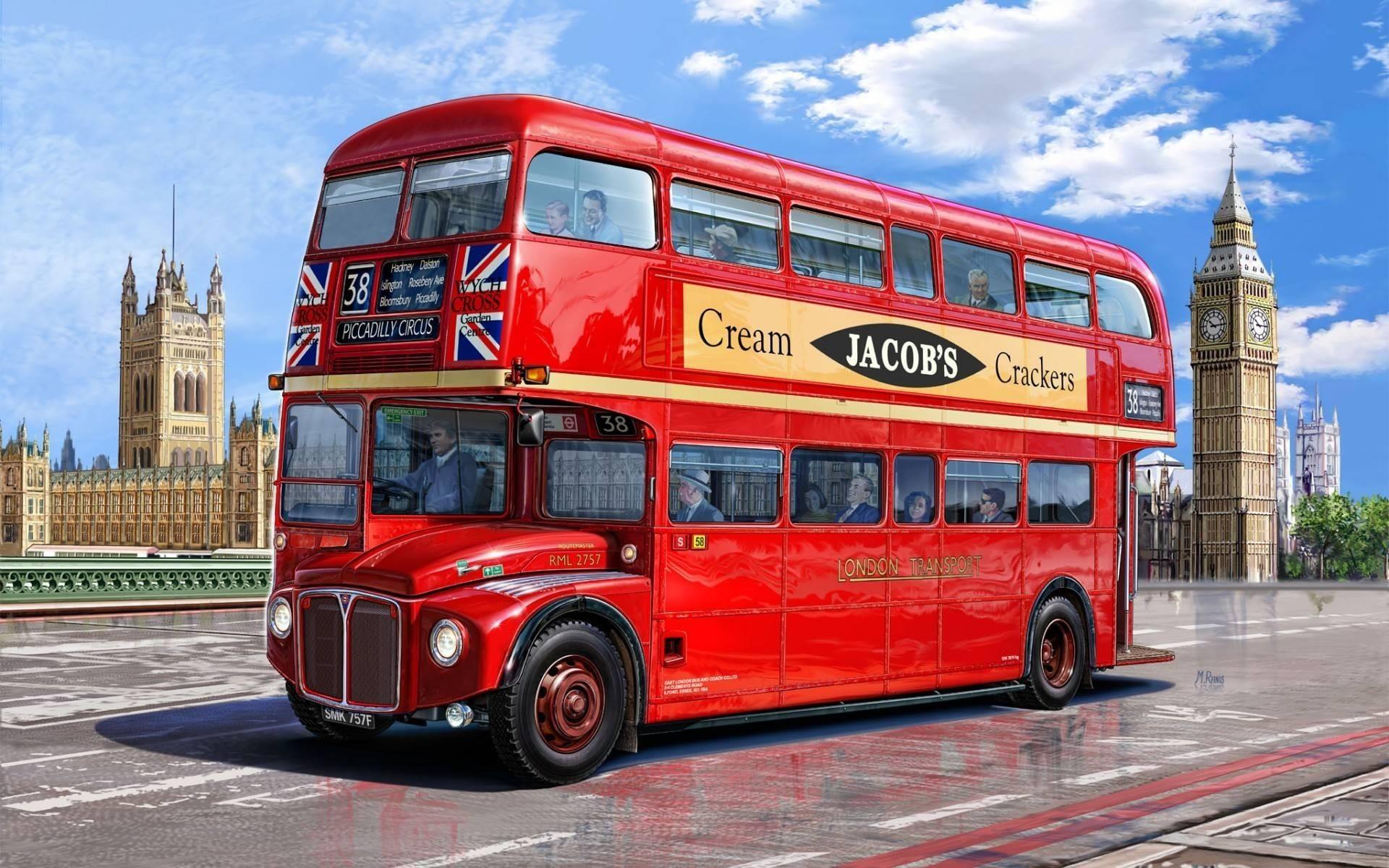 Обои автобусы. Разное foto 12