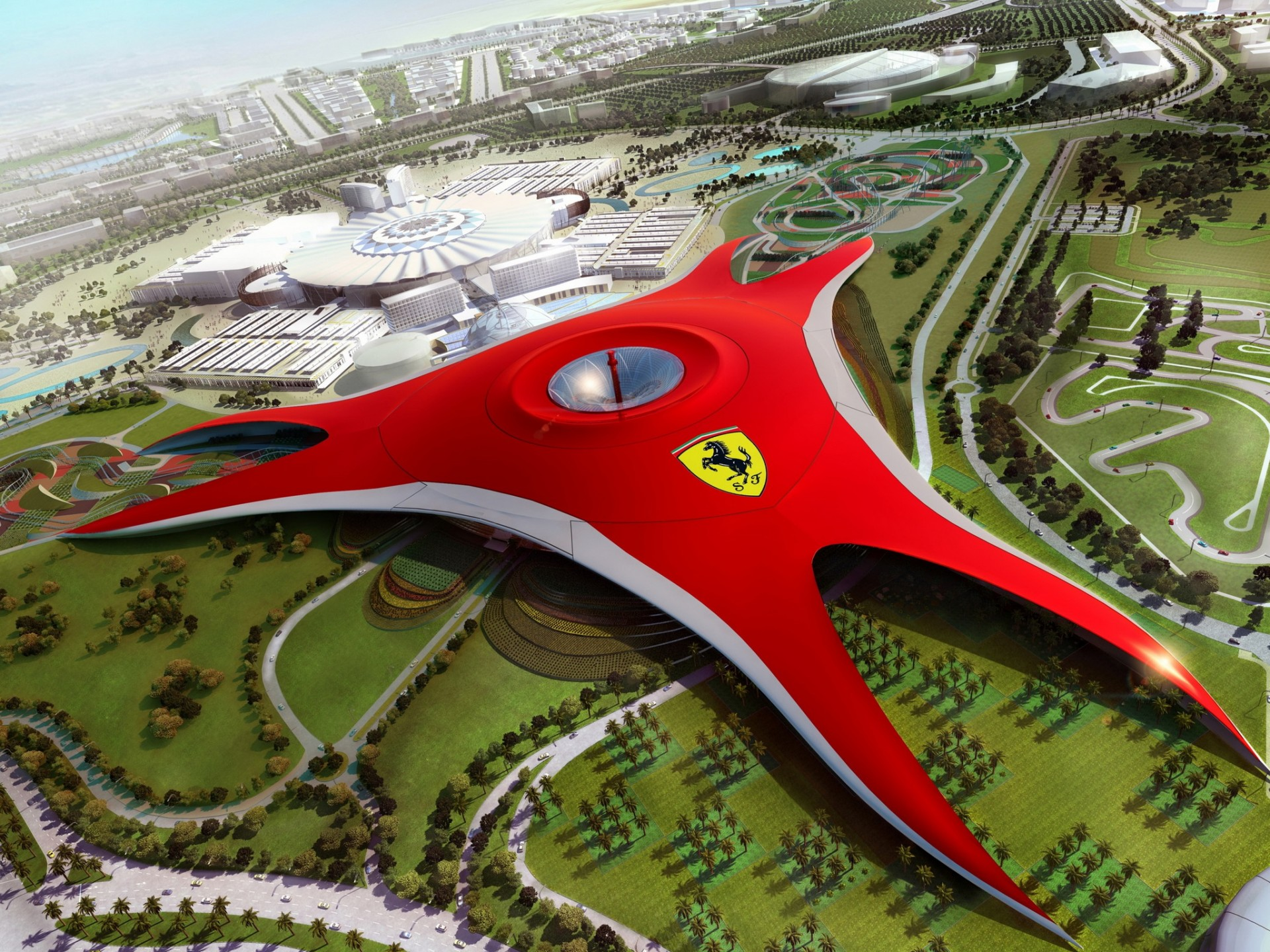 dubai ferrari world будущее