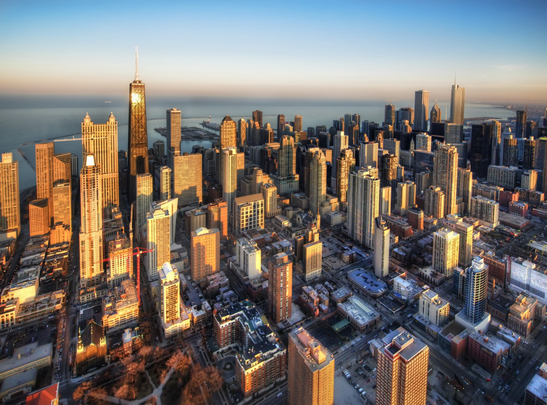 города с небоскребами фото