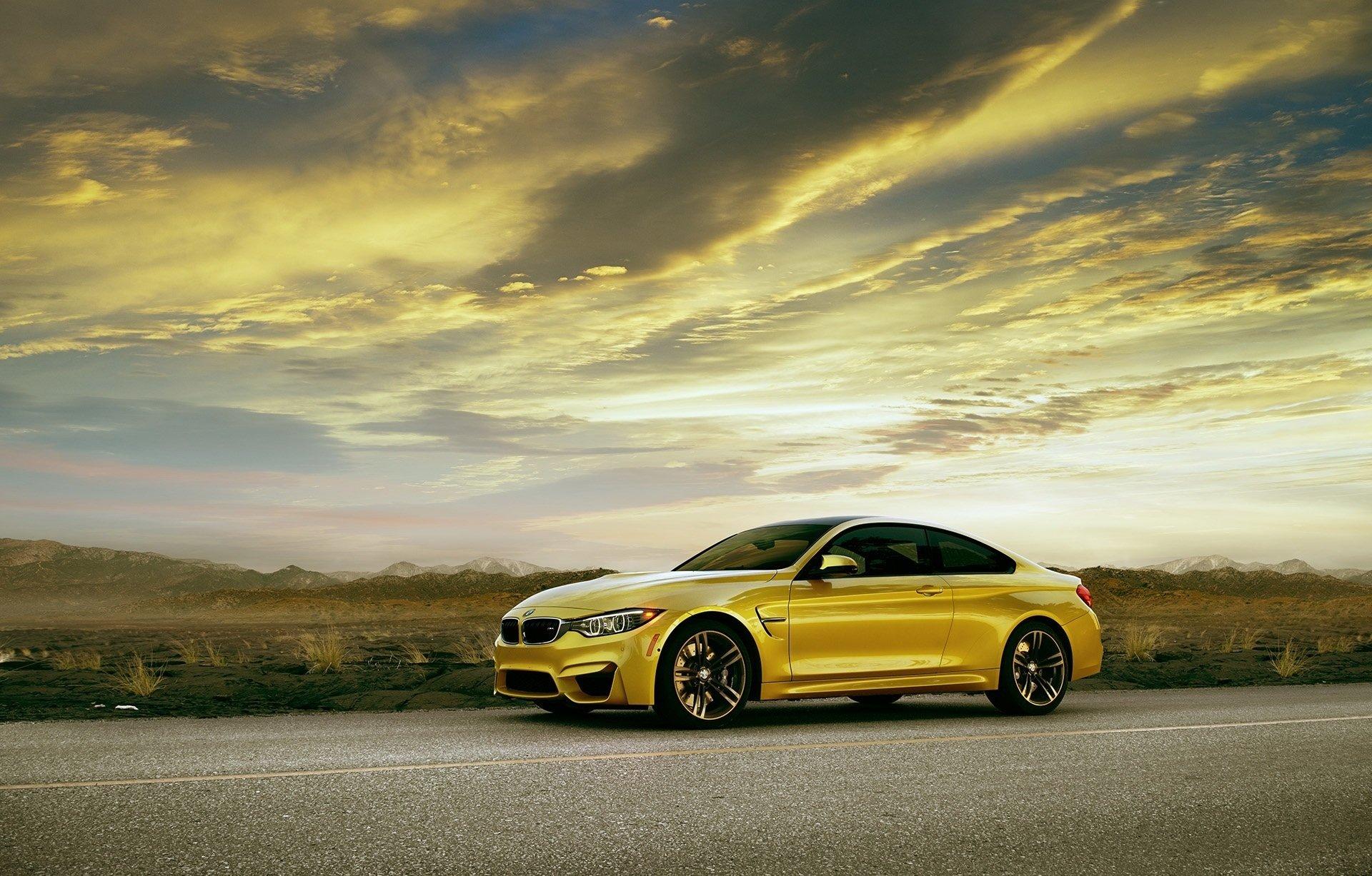 BMW M3 Желтое  № 844792 загрузить