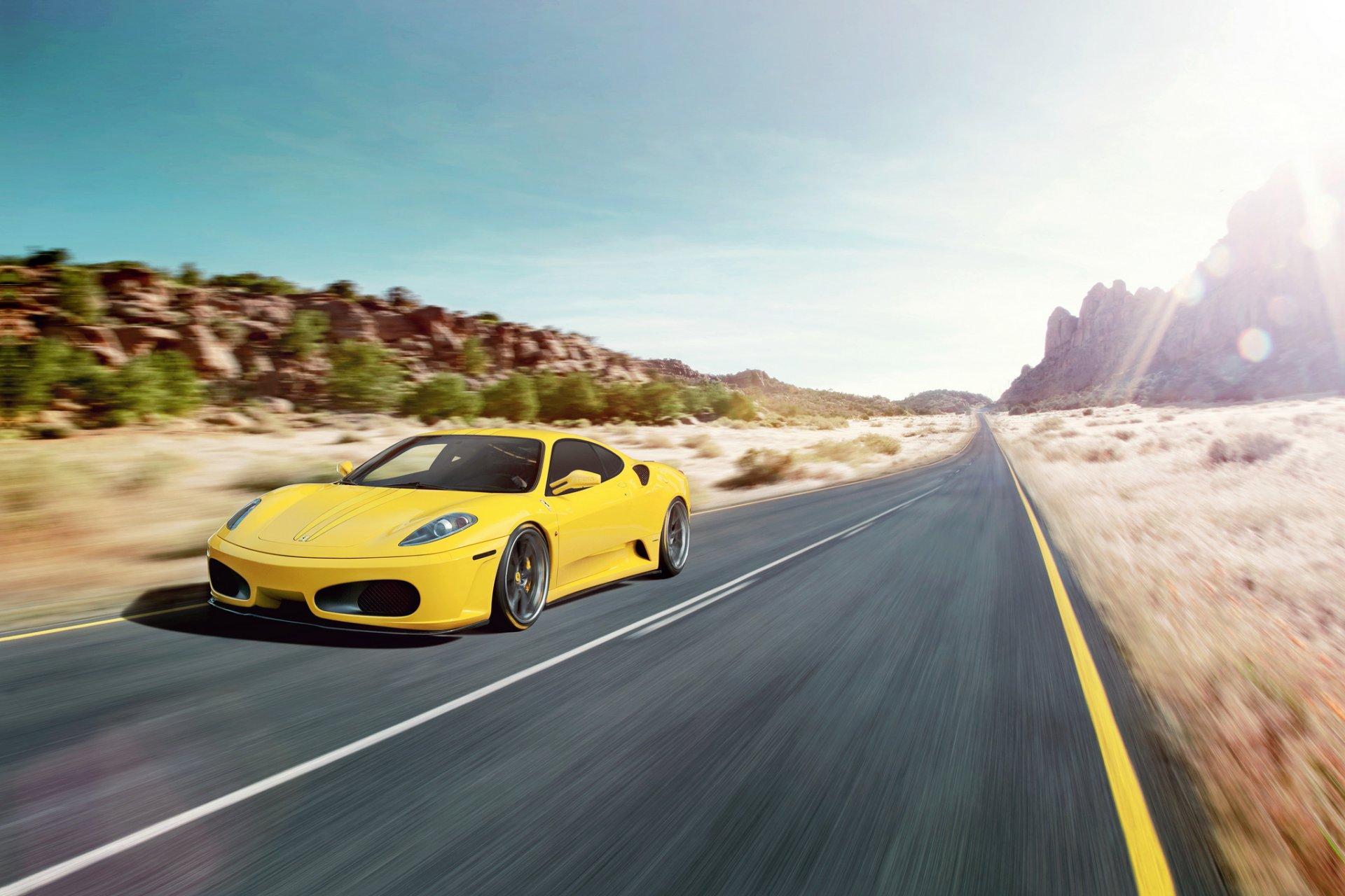 Ferrari дорога бесплатно