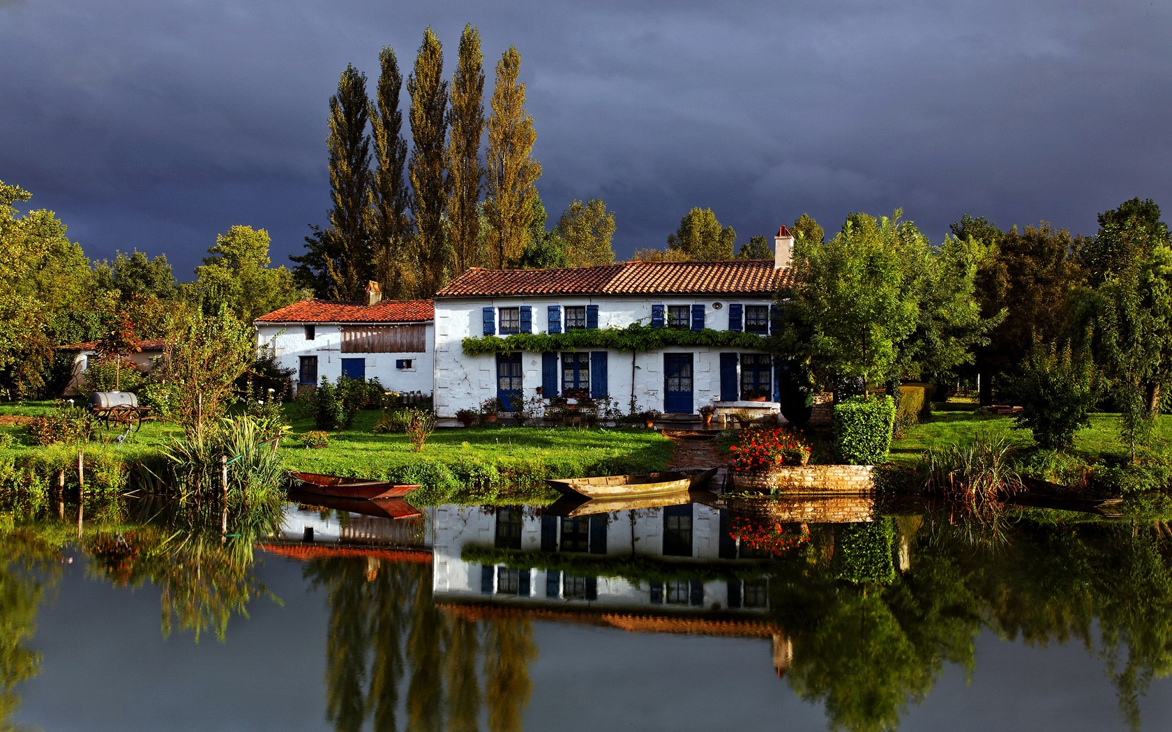 canal cottage france франция