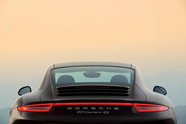 porsche 911 4s carerra black
