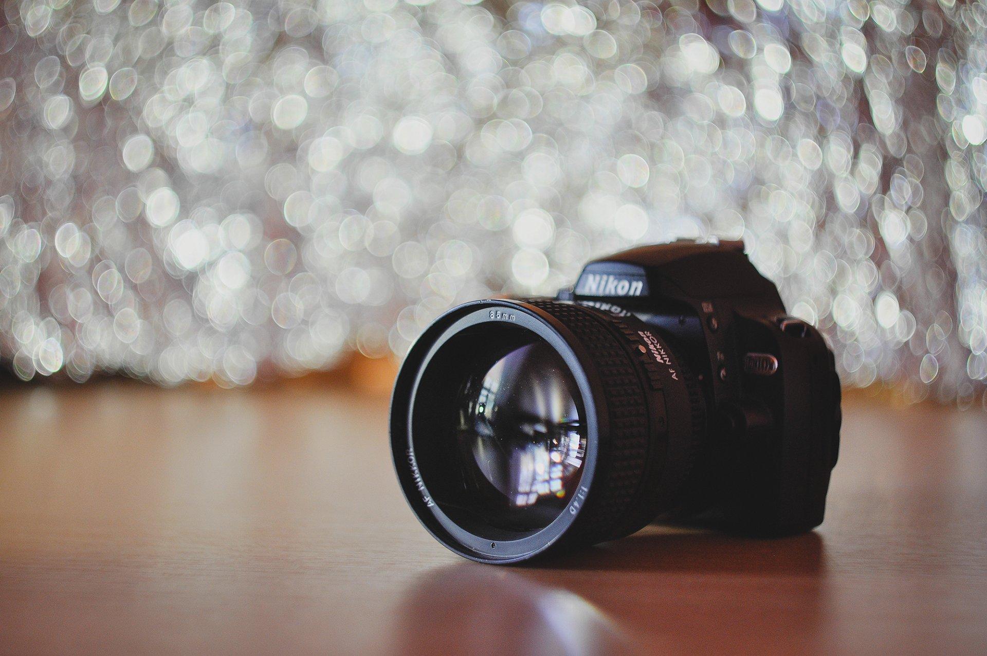 Фотоаппарат для размытого фона