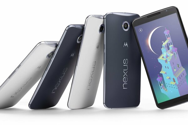 motorola nexus 6 от google смартфон 2014 android 5.0 lollipop