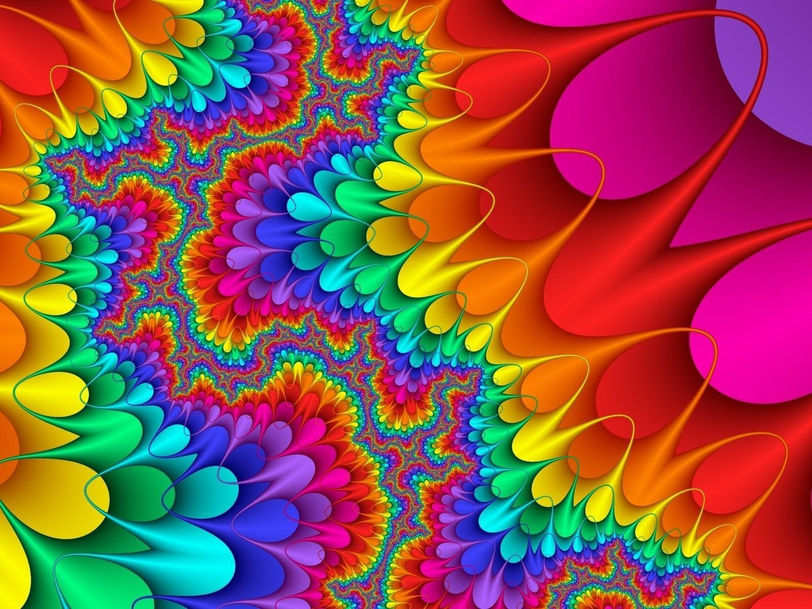 разноцветная абстракция бесплатно