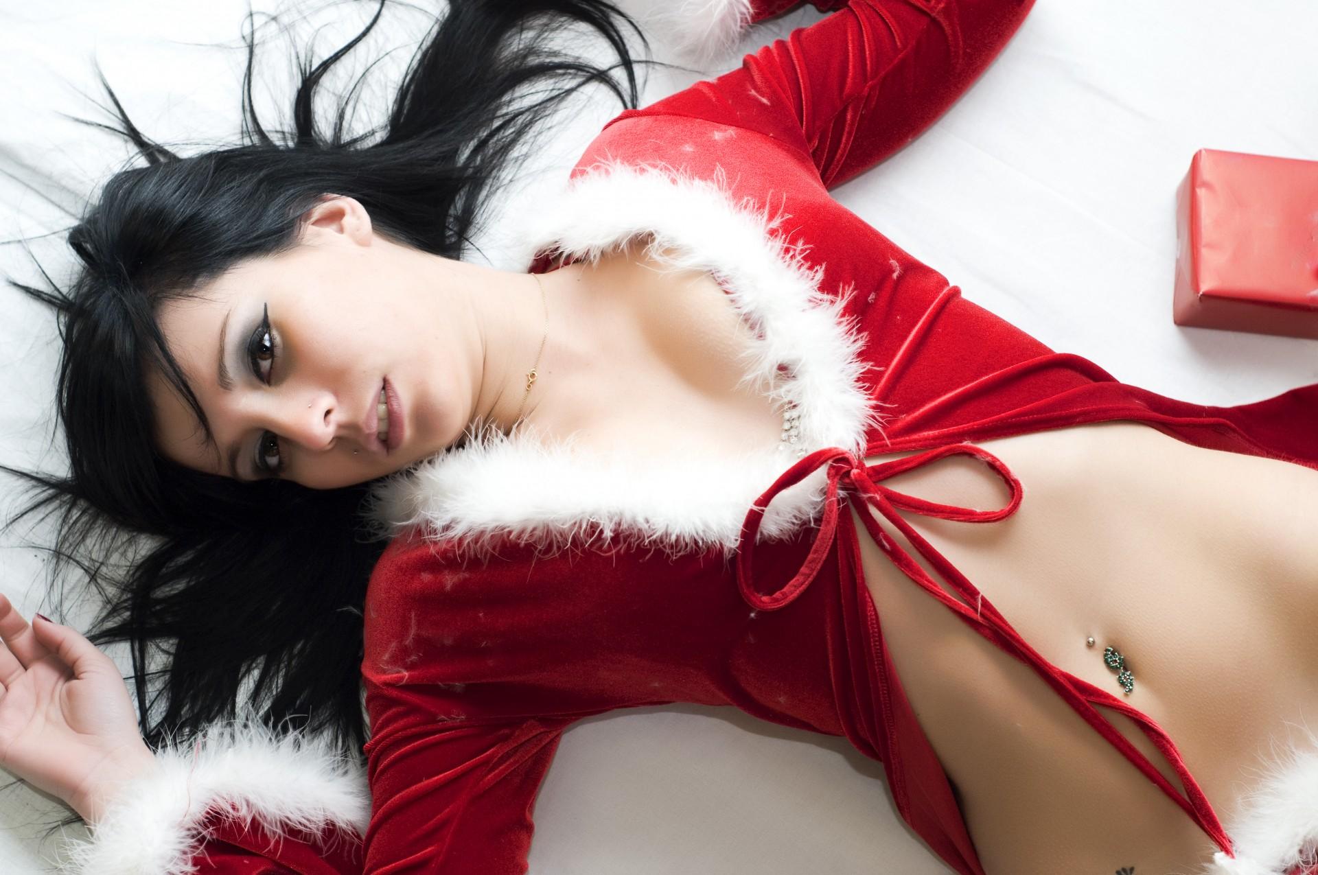 Картинки сексуальных новогодних девушек #1