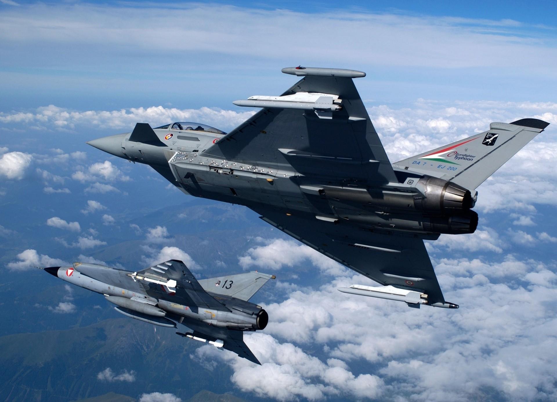 Обои самолеты, Eurofighter typhoon. Авиация foto 15