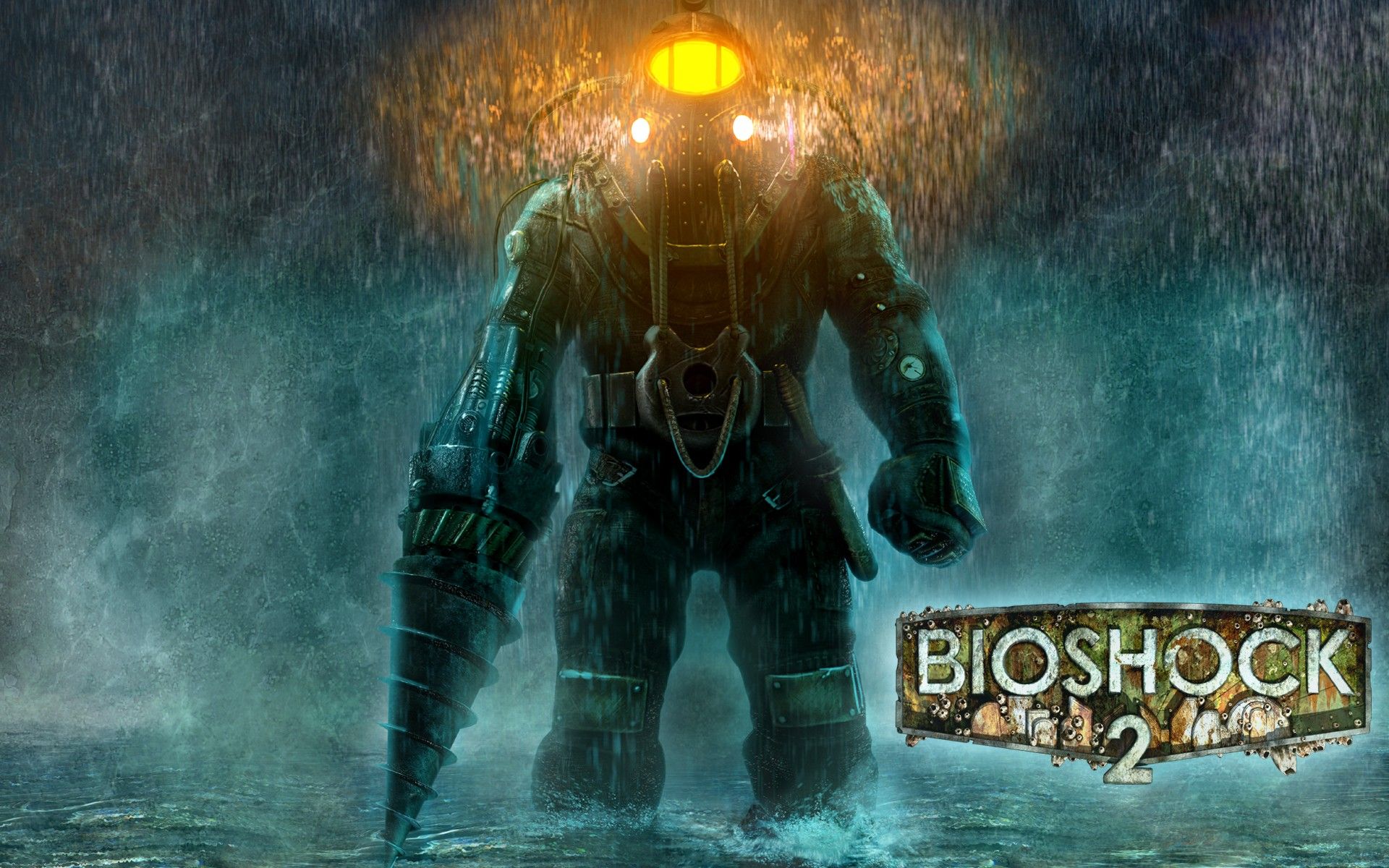 bioshock 2 sea of dreams скафандр огни