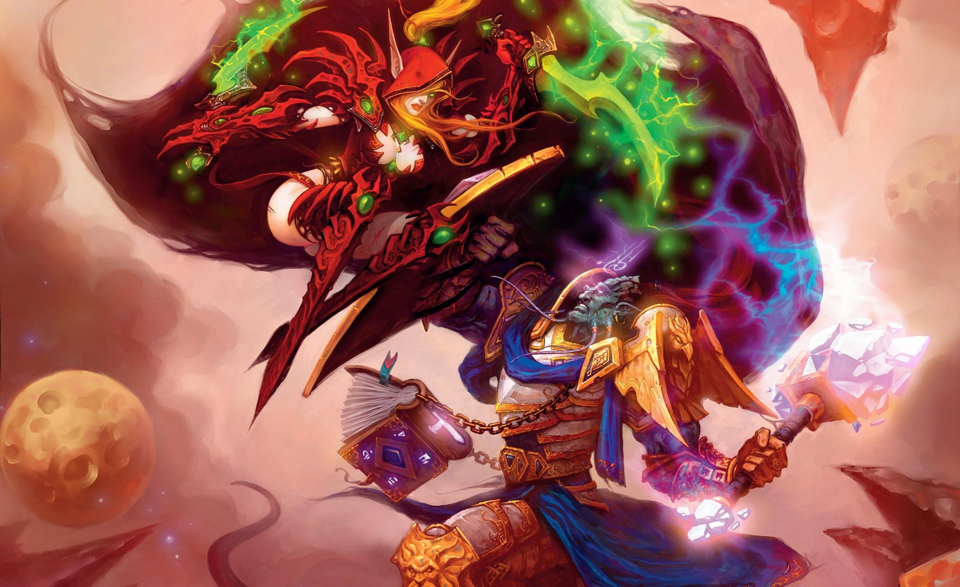 world of warcraft the burning crusade битва