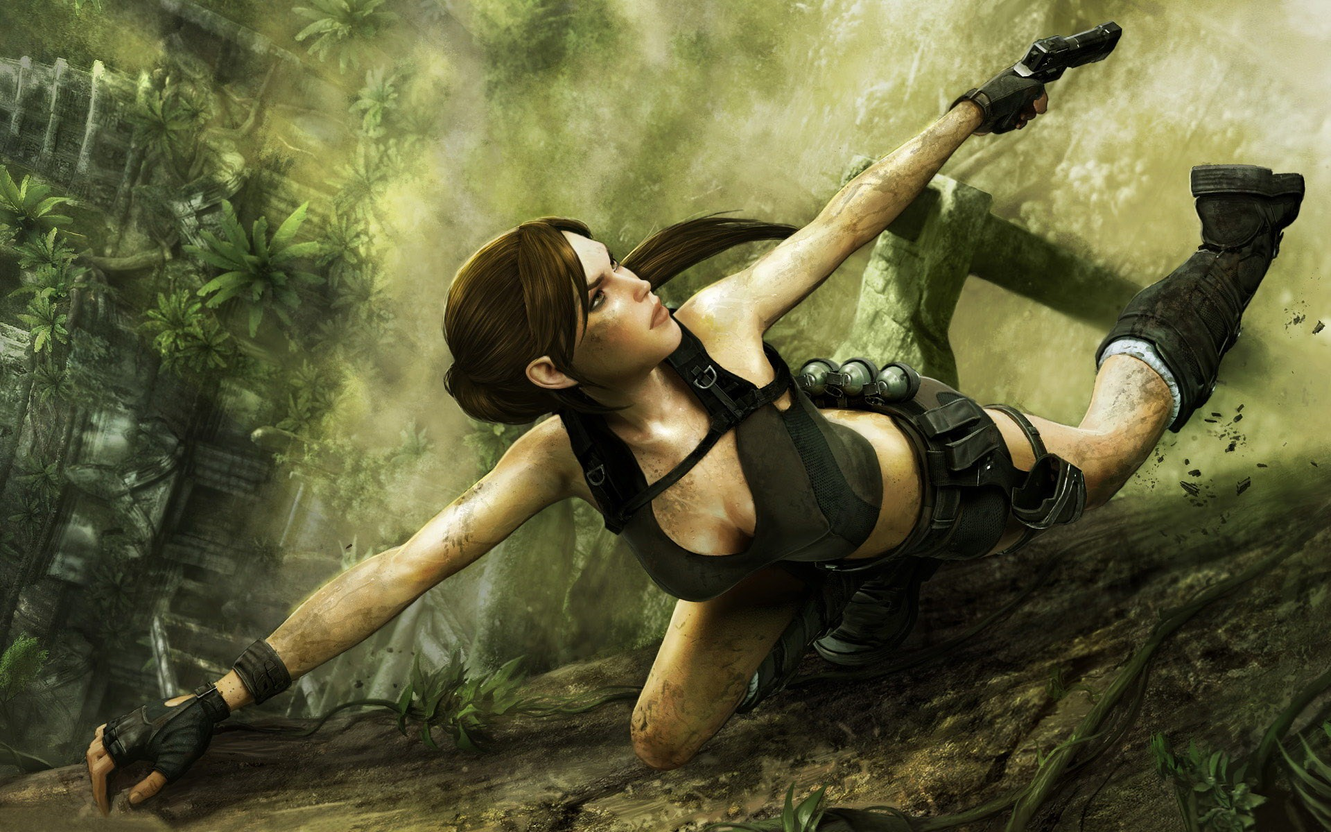 Lara croft fucked nude by elves naked chick