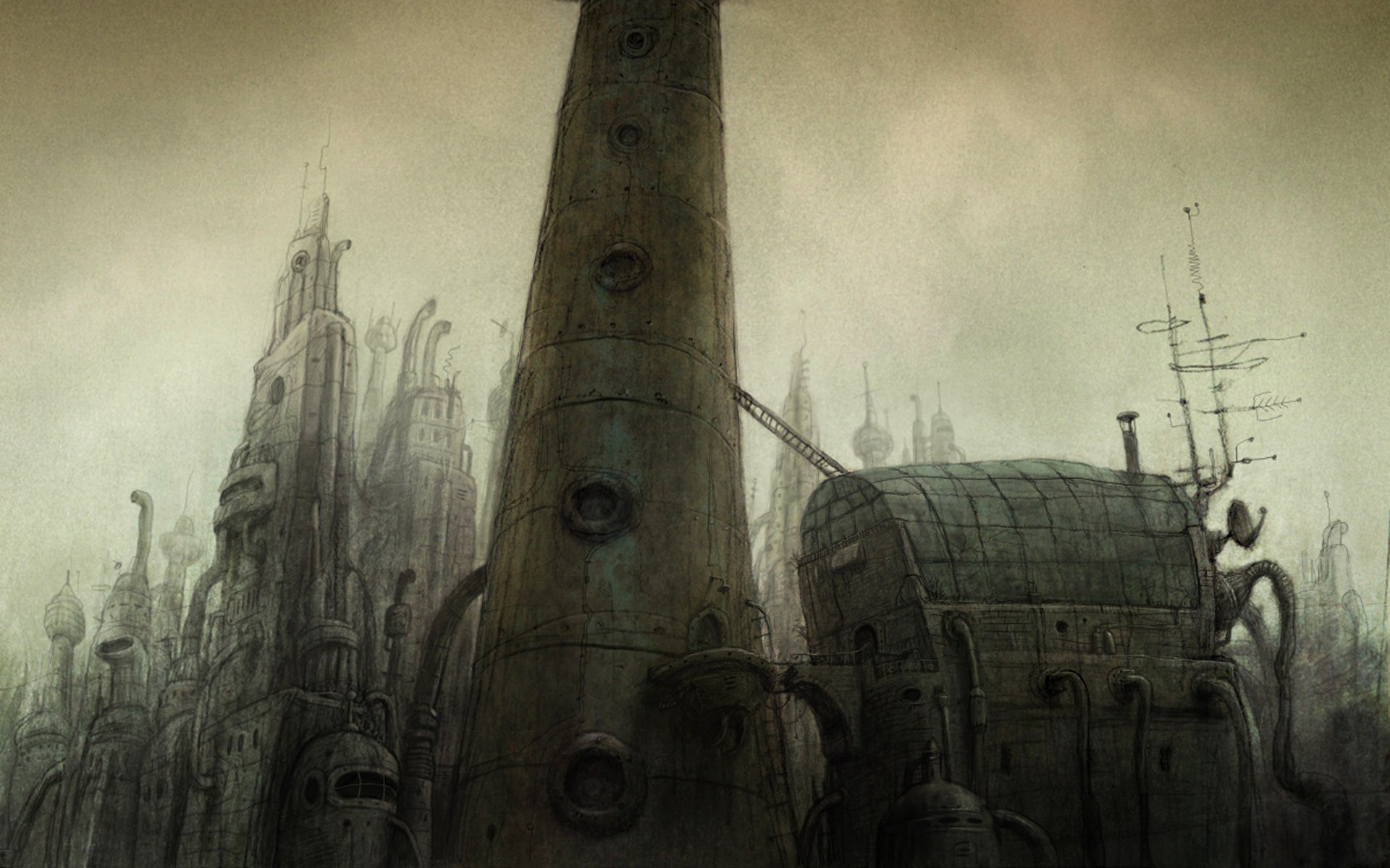 machinarium tower башня