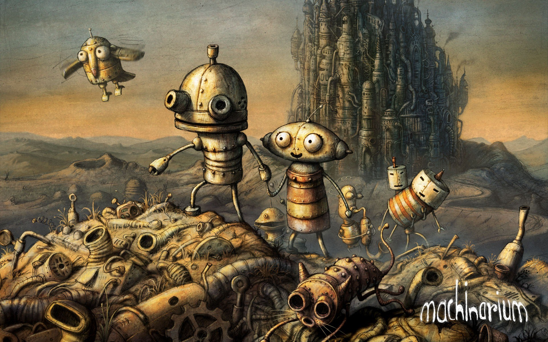 machinarium инди робот