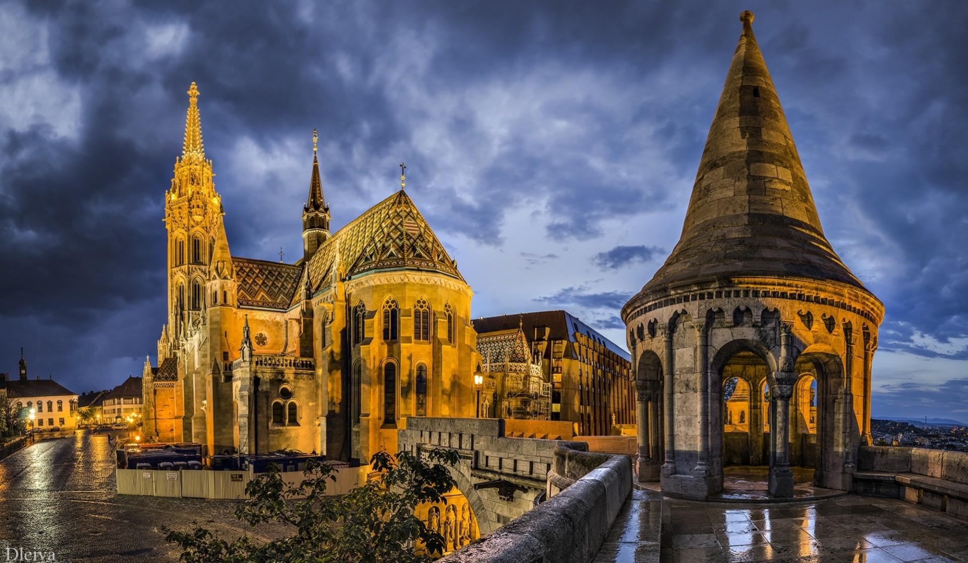 Обои будапешт, церковь святого матьяша. Города foto 6