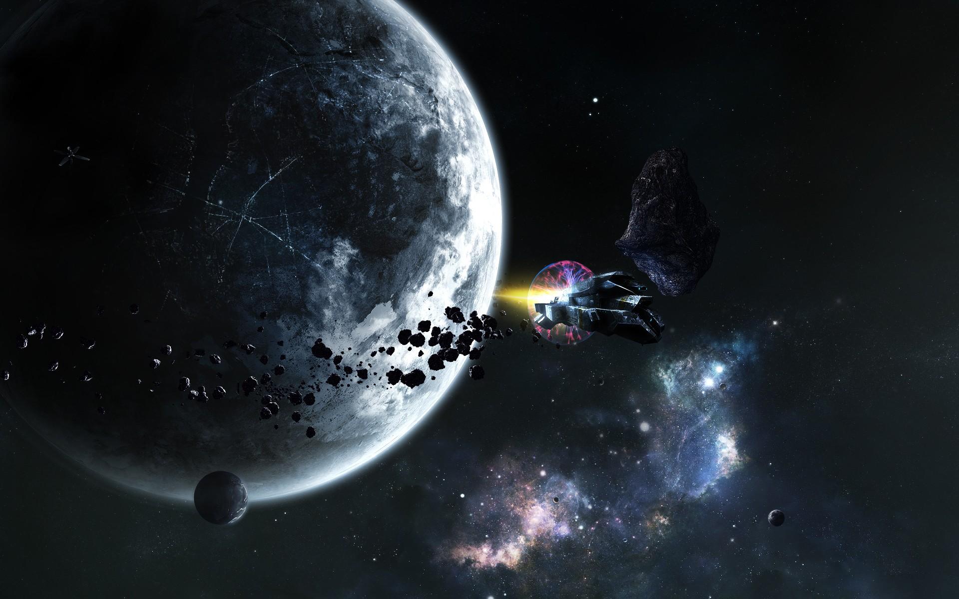 Обои планета космос орбита картинки на рабочий стол на тему Космос - скачать  № 1756989 без смс