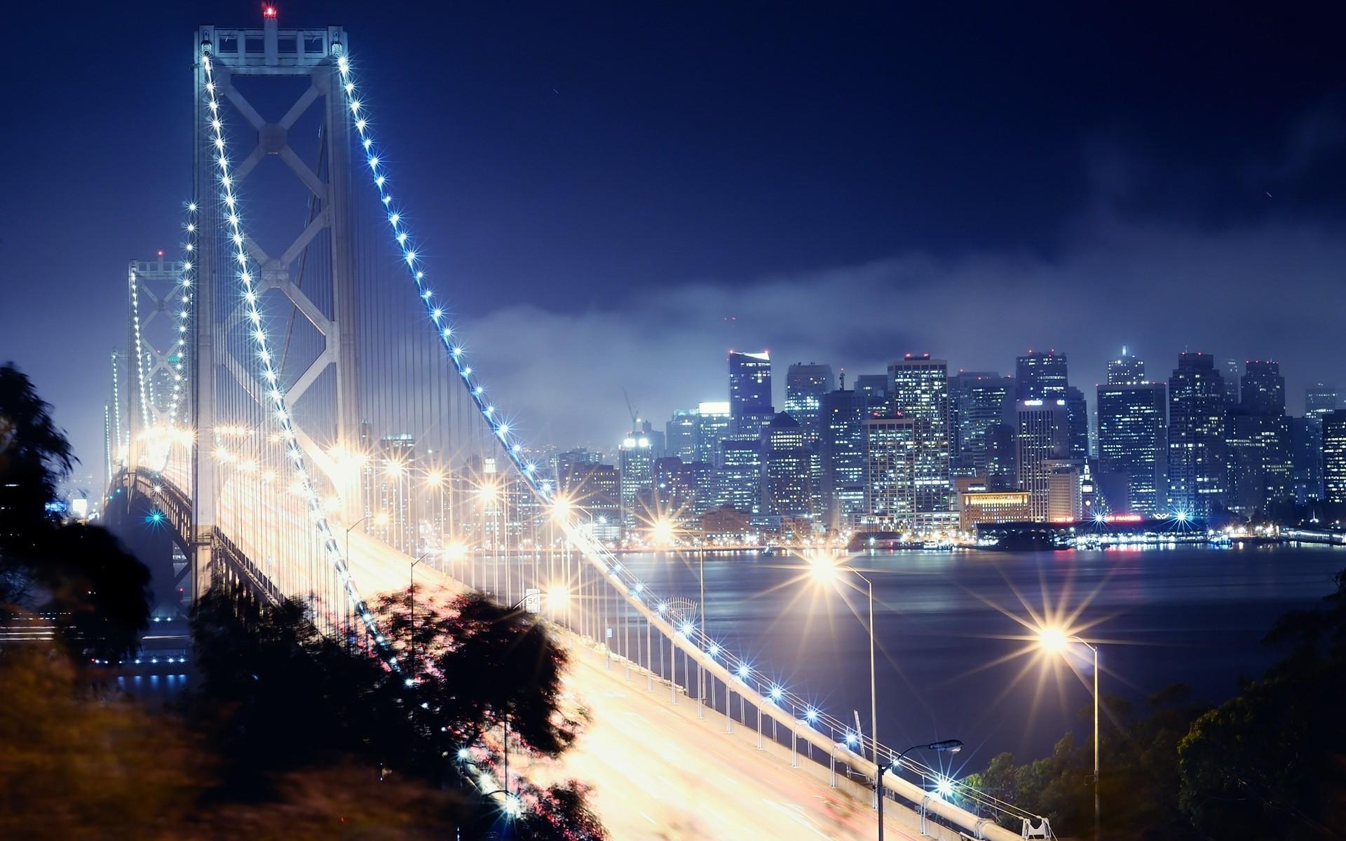 Открытку для, картинки ночной город на рабочий стол