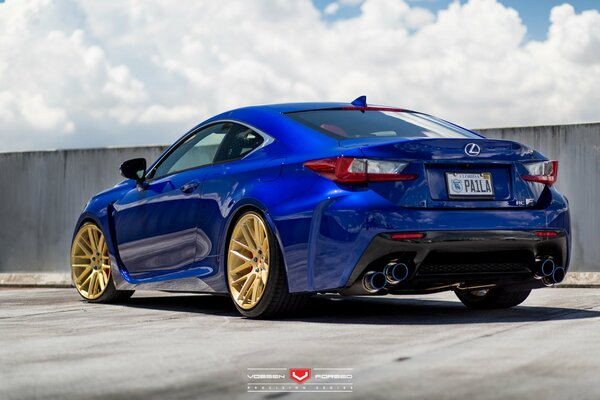 Vossen Wheels авто машина диски auto wheels 2015 Lexus Forged VPS-308 диски