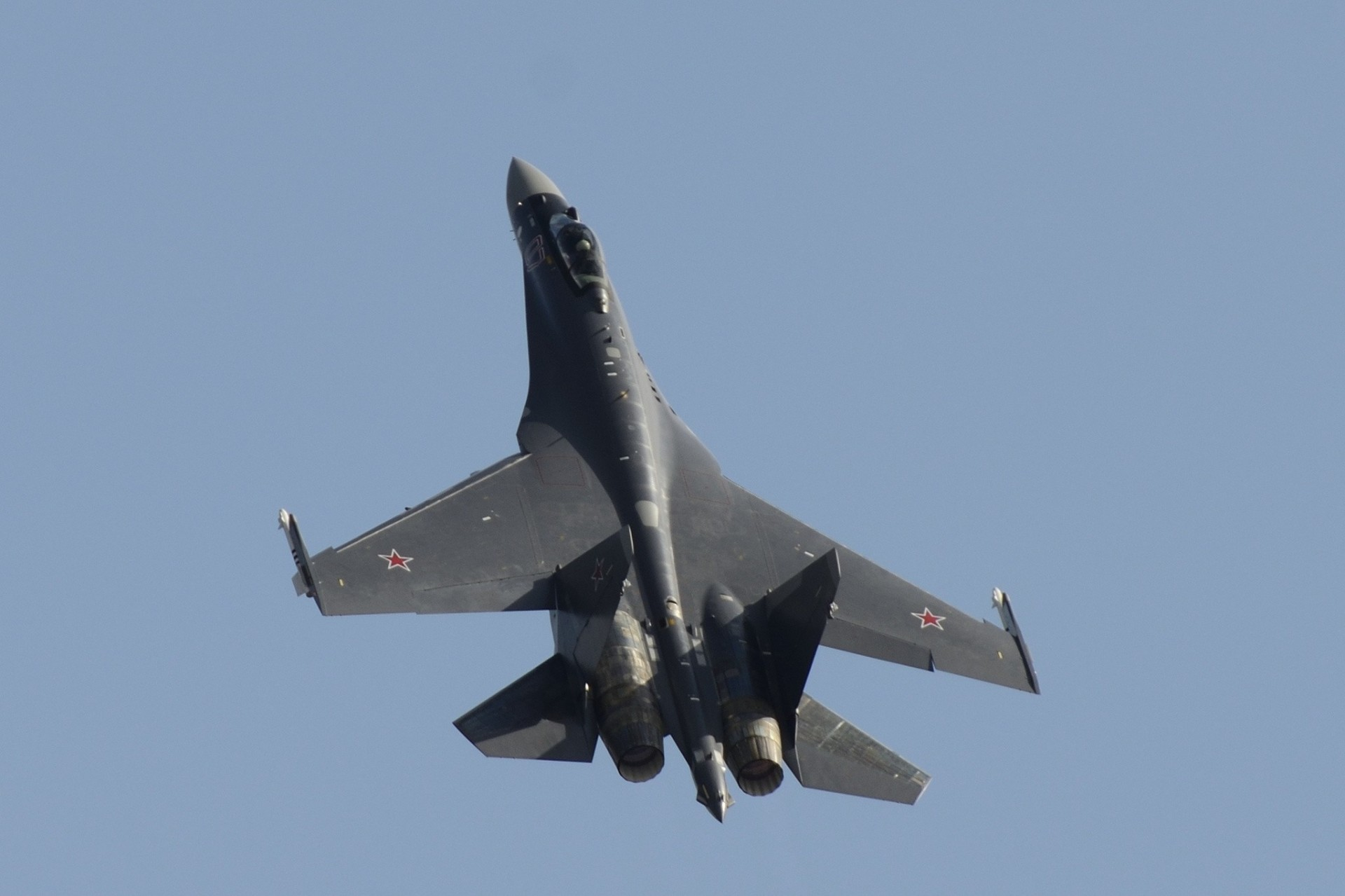 Обои сверхманевренный, Самолёт, многоцелевой, Su-35. Авиация foto 10