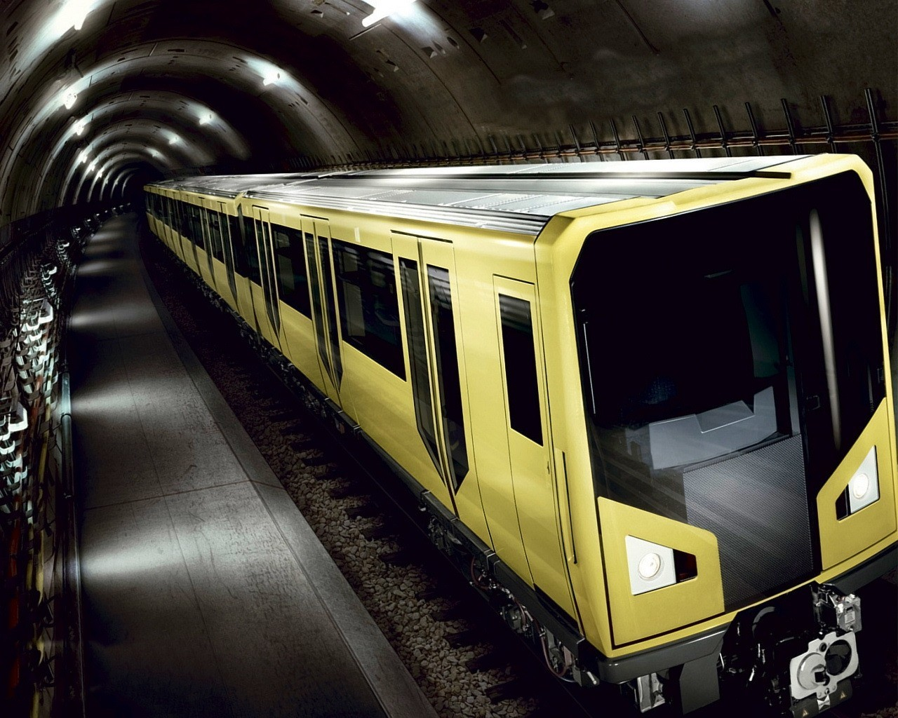 subway train videos - HD 1280×1024