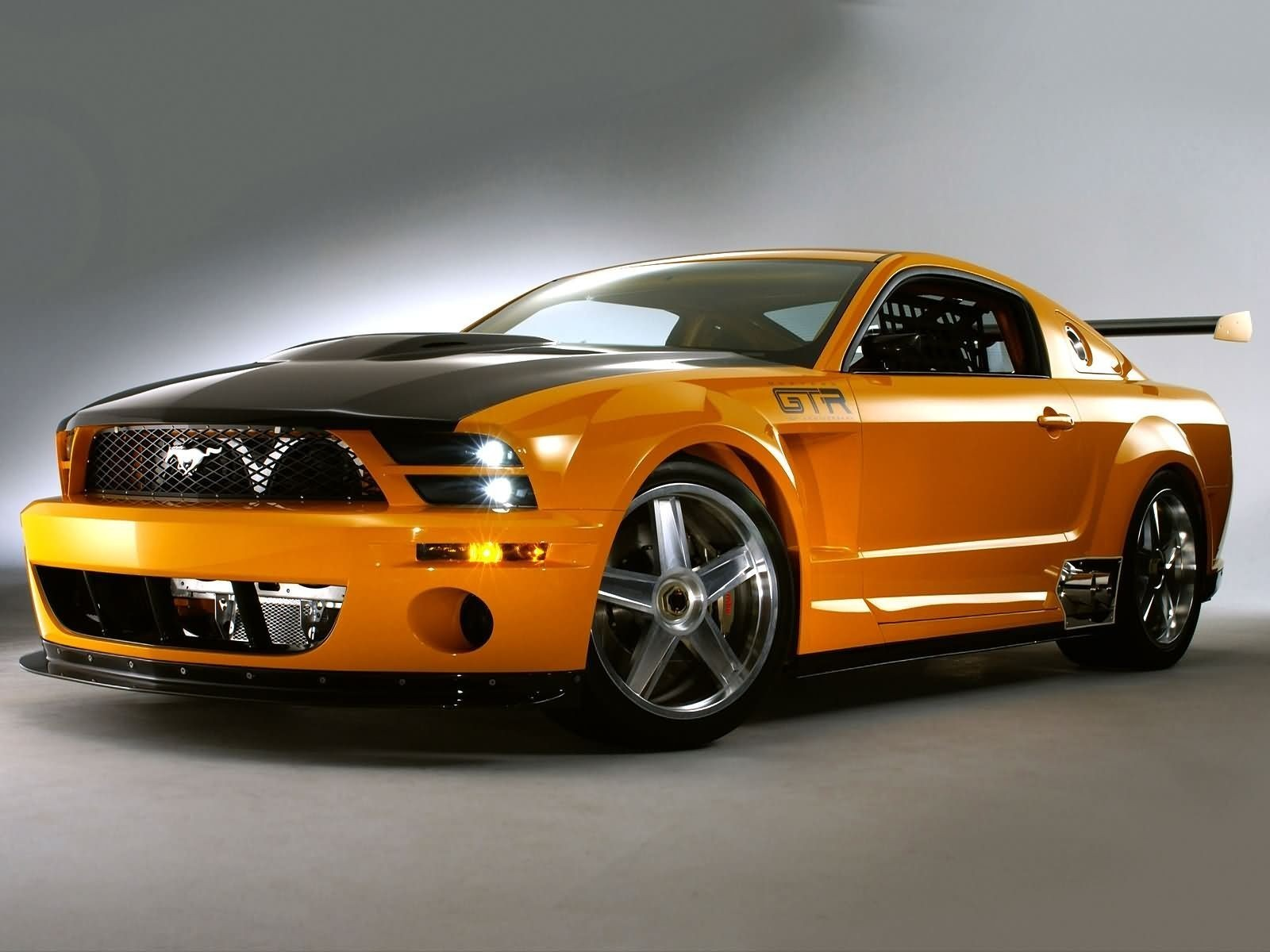 ford mustang gtr concept концепт