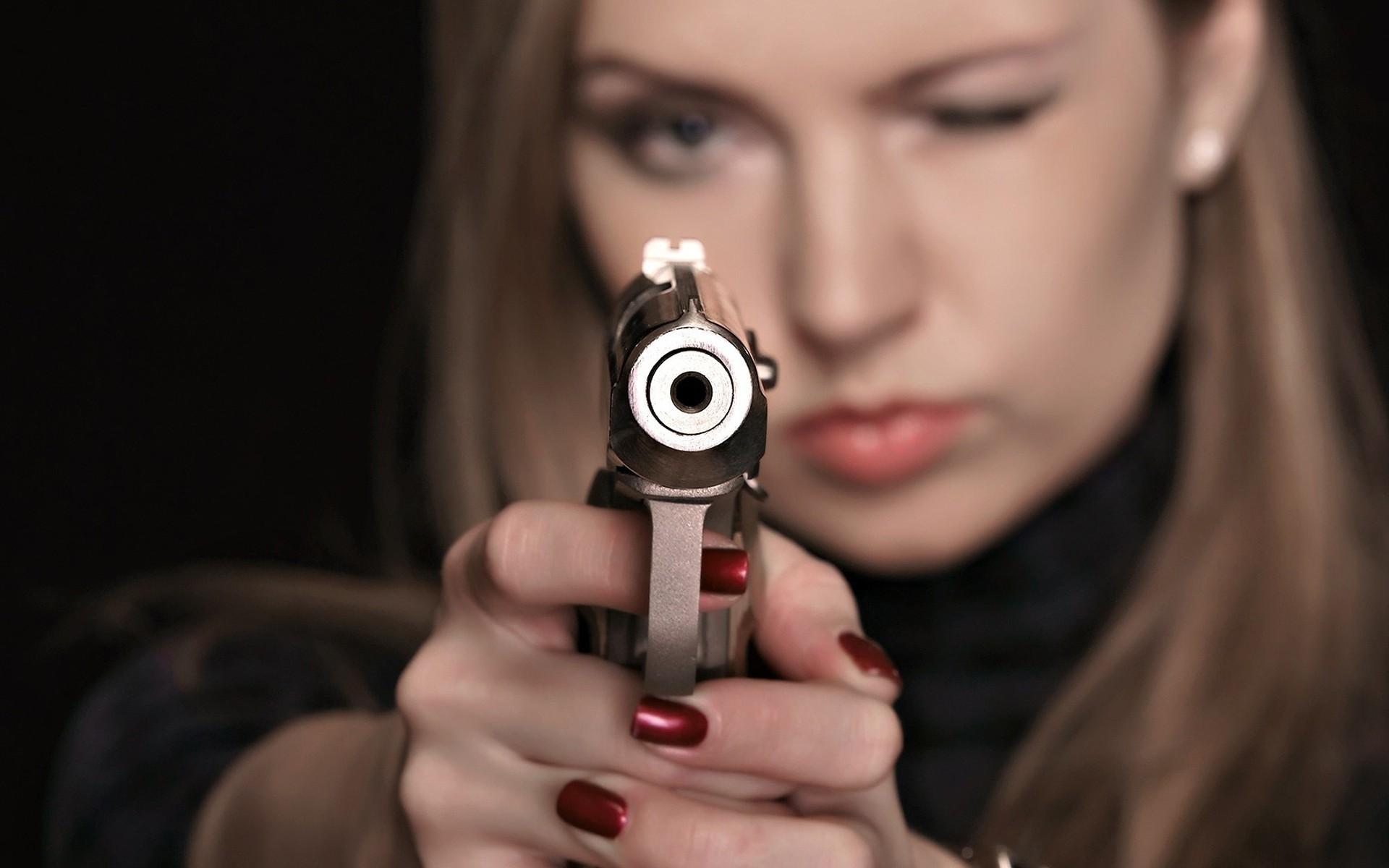 Прикольные картинки пистолет