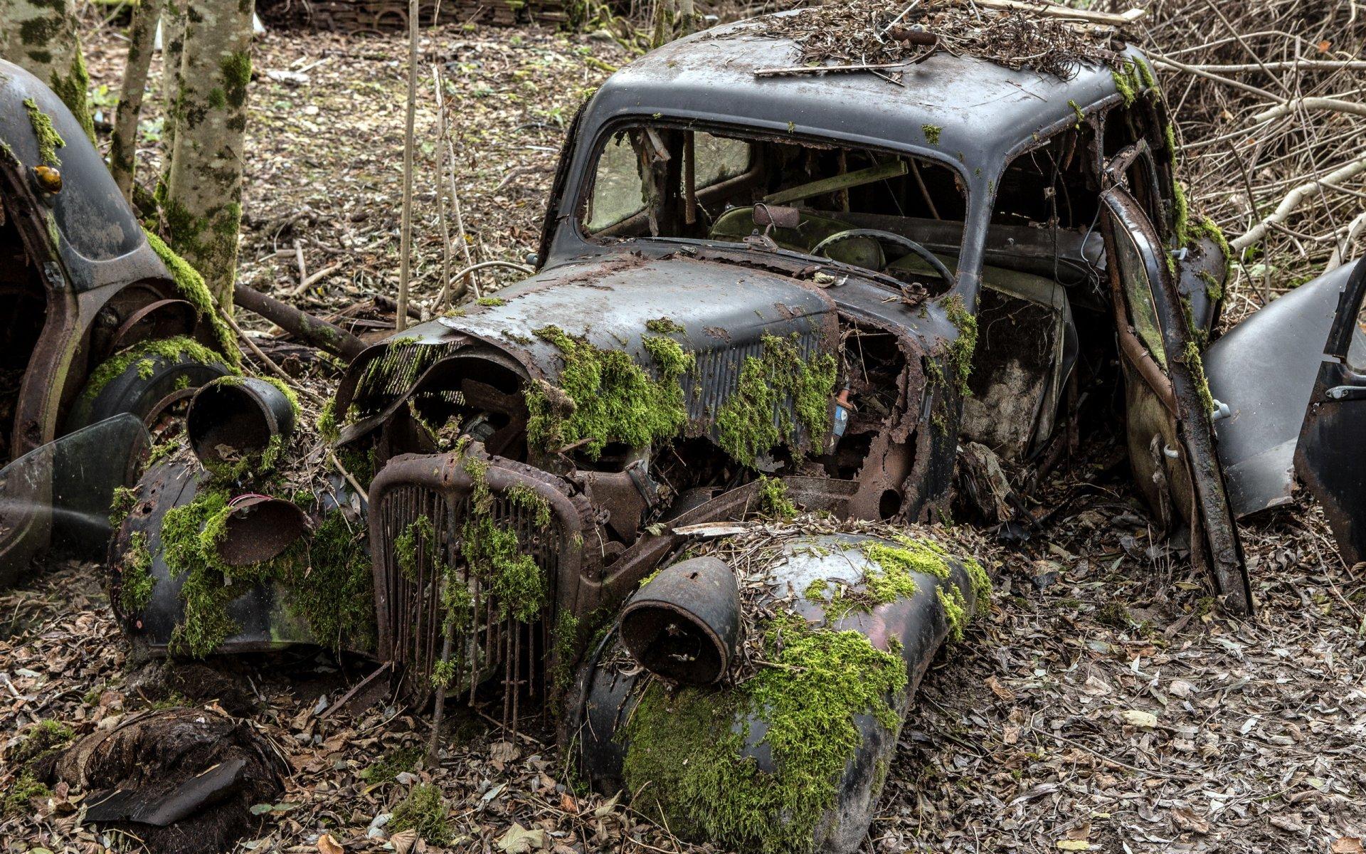 Обои машины, лом. Автомобили foto 11