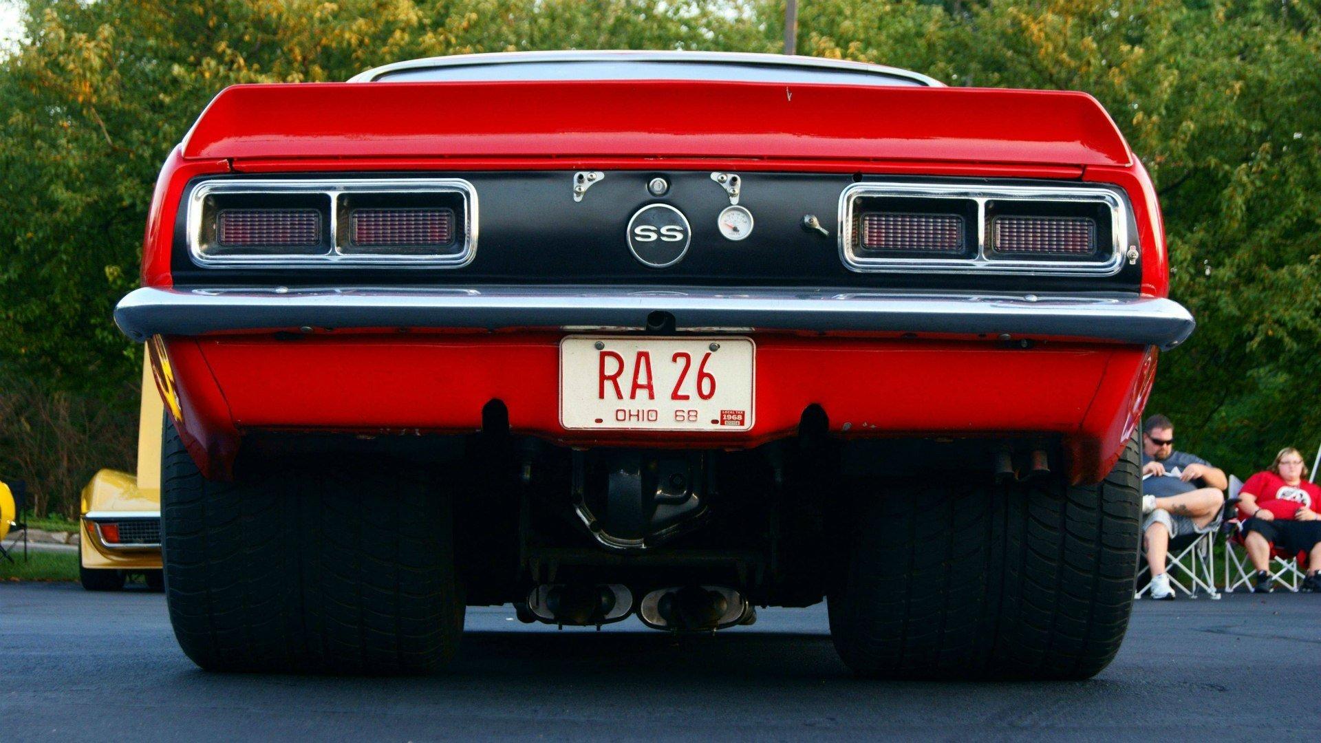 Обои колёса, Chevrolet camaro, полосы, диски, асфальт, шевроле камаро. Автомобили foto 10