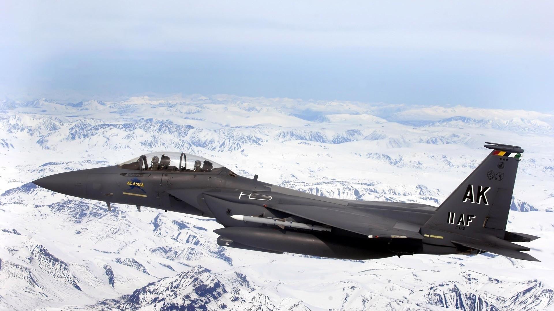 Обои вертикальный предел, F15 strike eagle, истребитель, высота. Авиация foto 7
