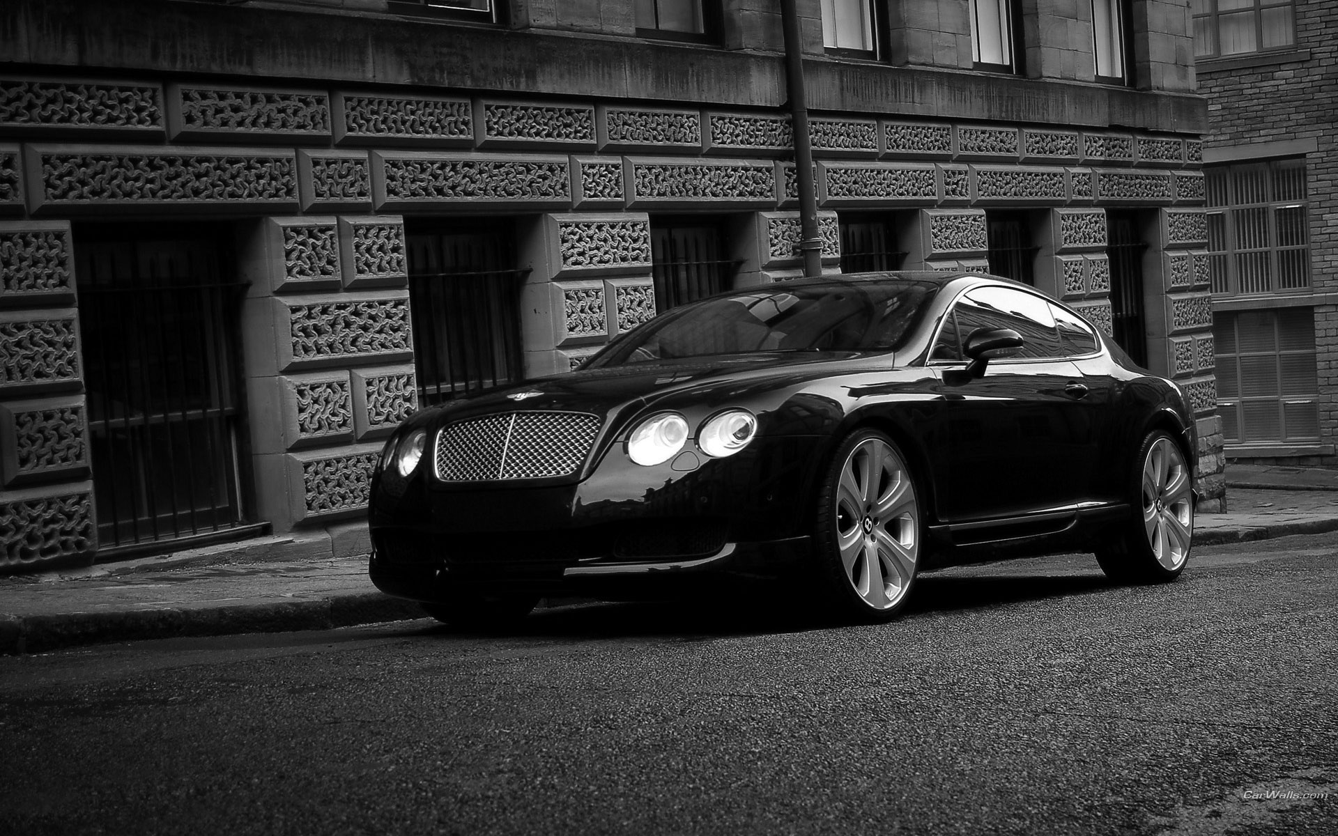 bentley continentalgt черный