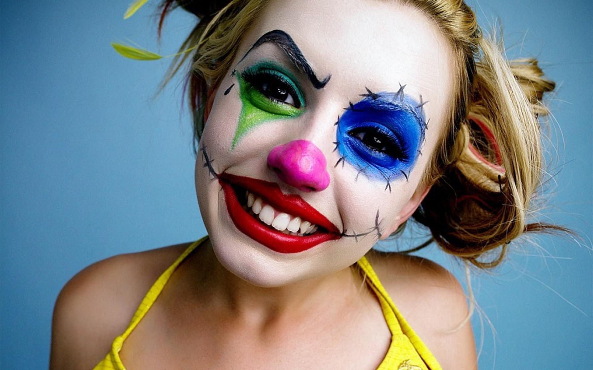 Девушка клоунесса картинки