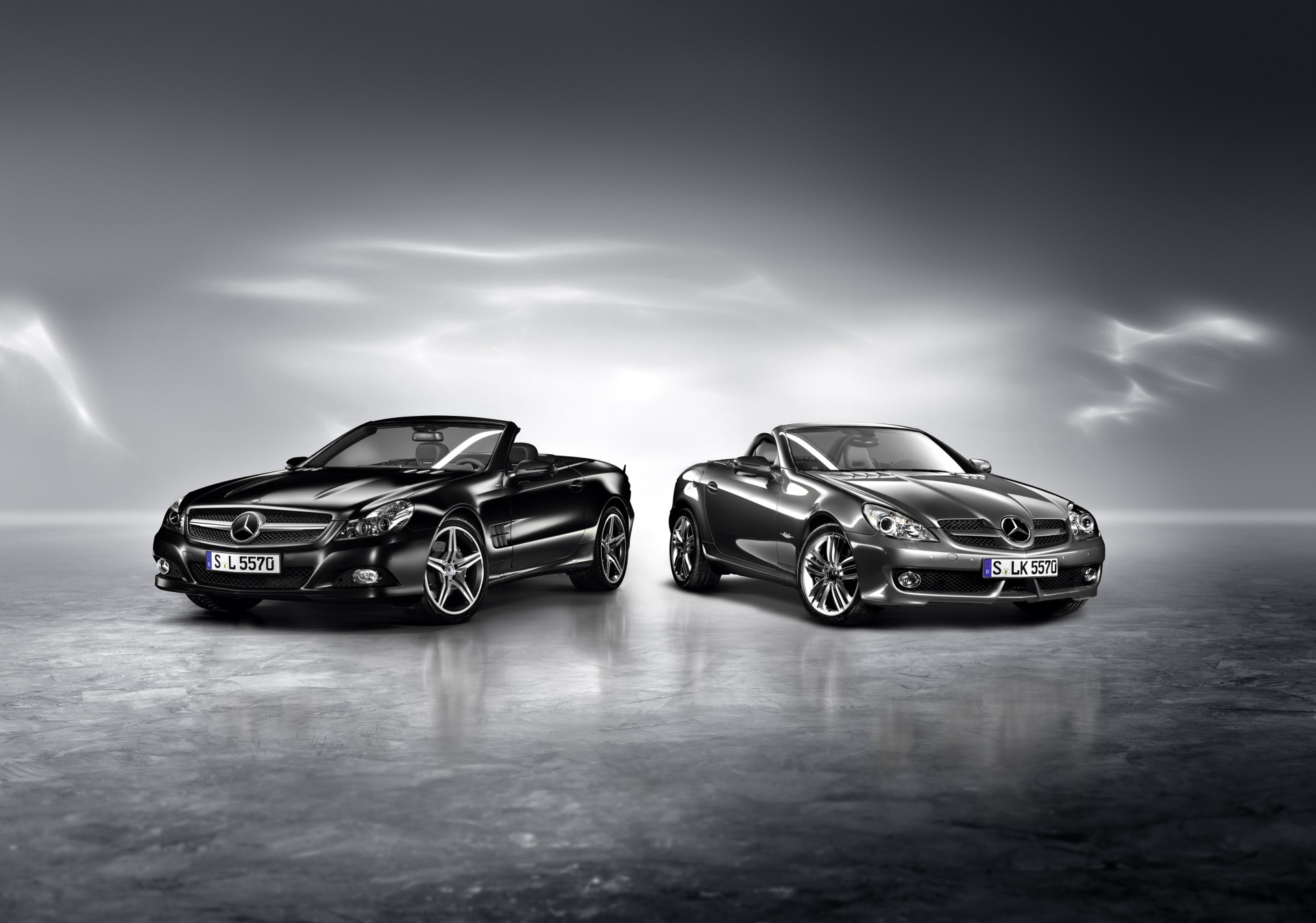 mercedes-benz sl night edition slk grand edition