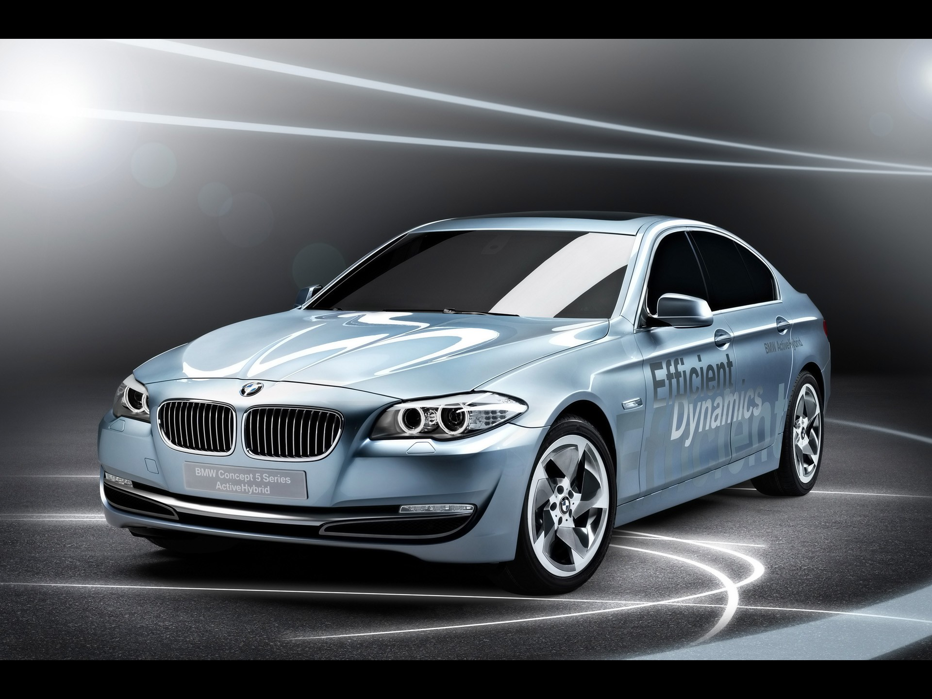 bmw concept 5 series activehybrid-engine