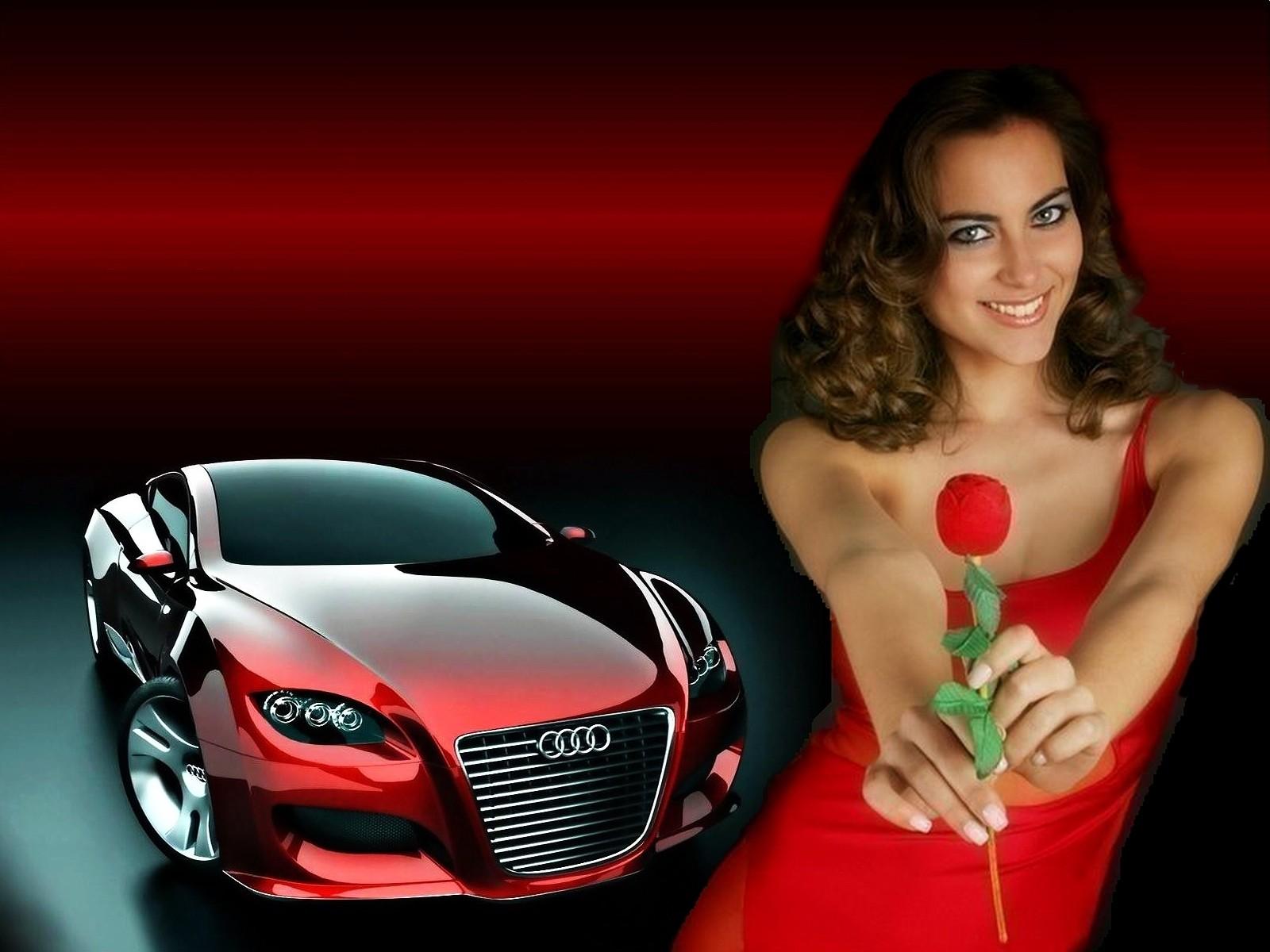 Поздравление с машиной девушке
