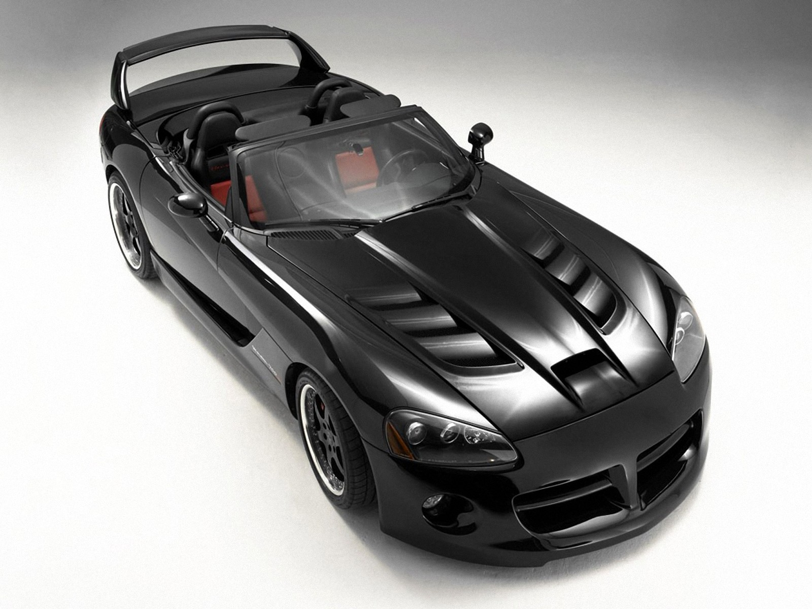 dodge viper srt 10 black тюнинг