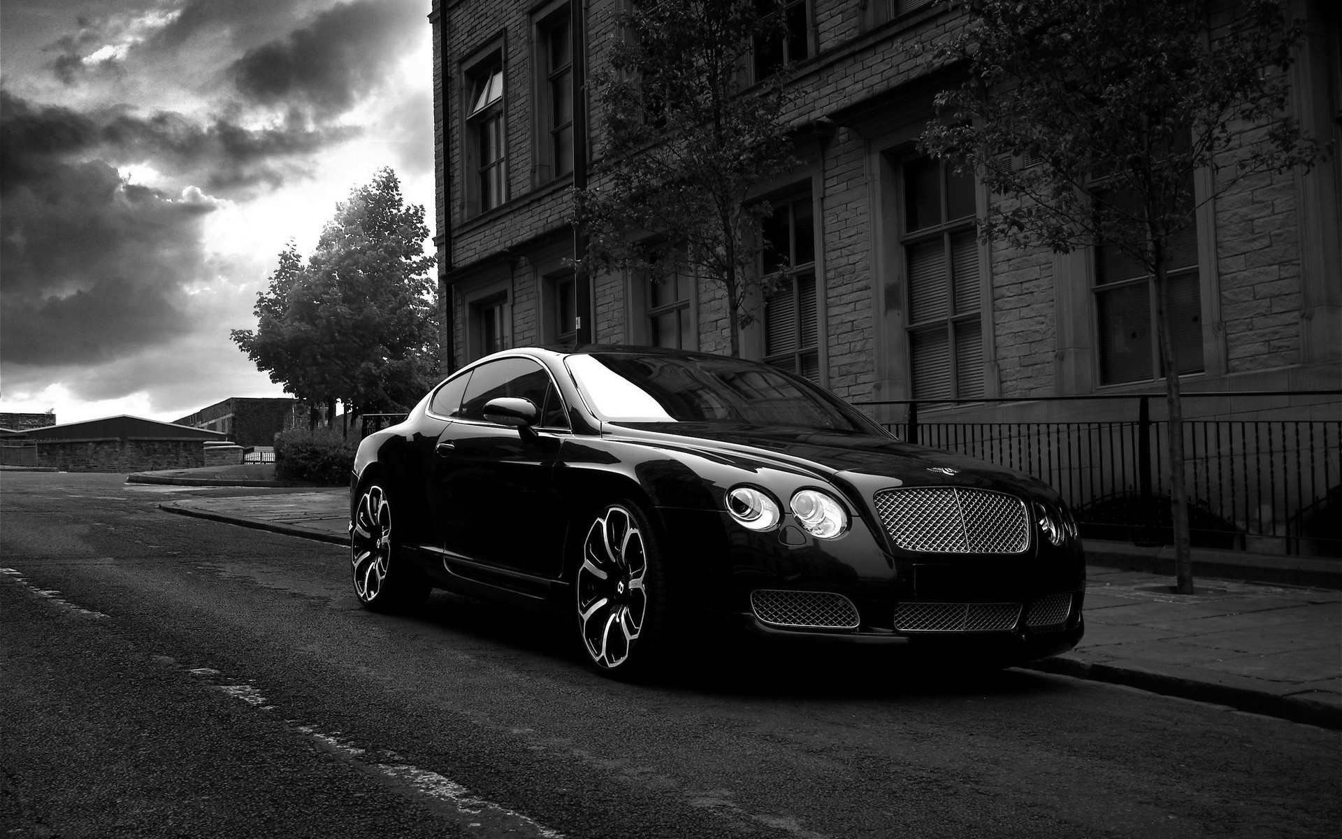 project kahn bentley gts black edition black gray  white