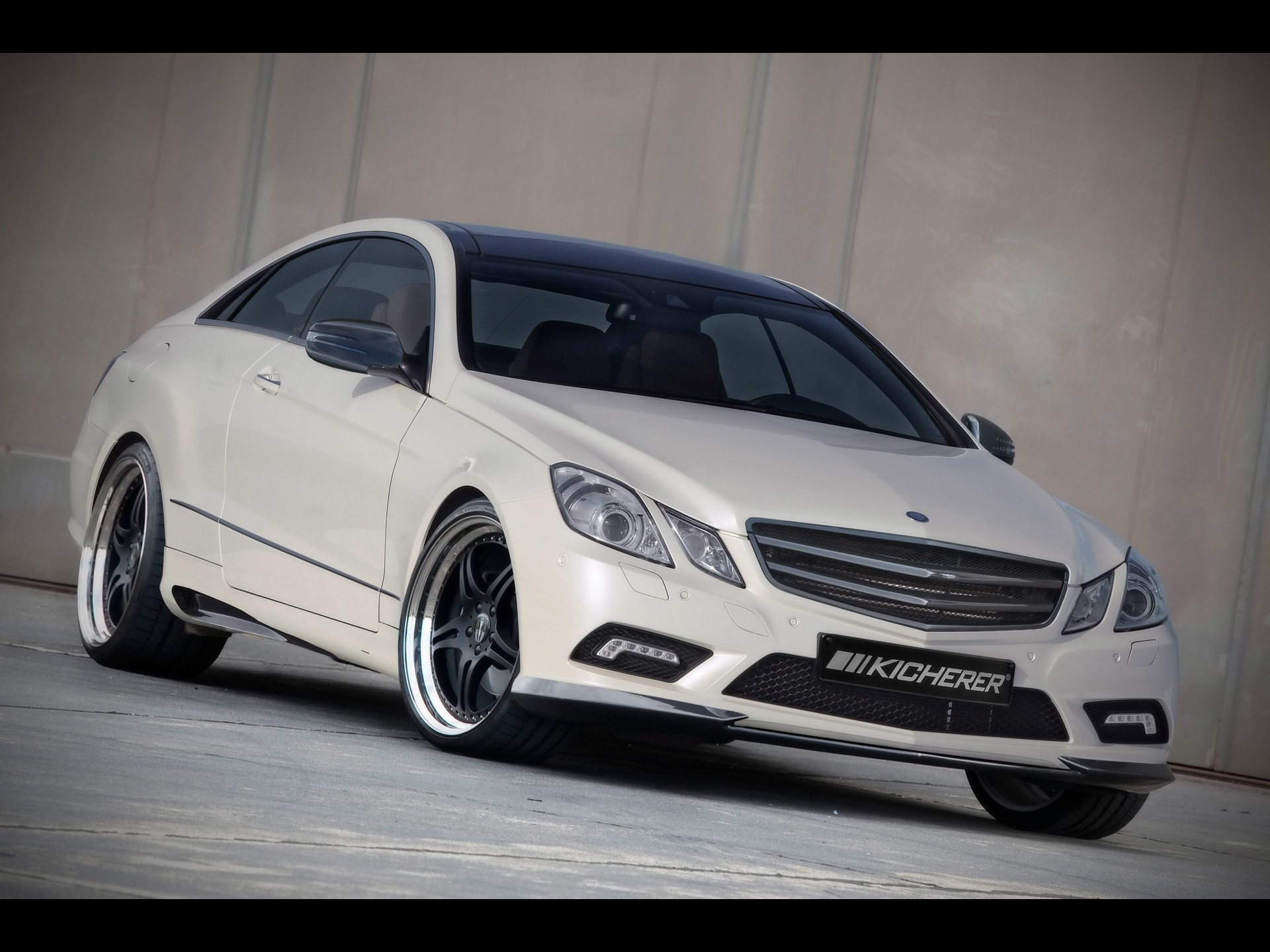 2010 kicherer mercedes benz e 50 coupe performance