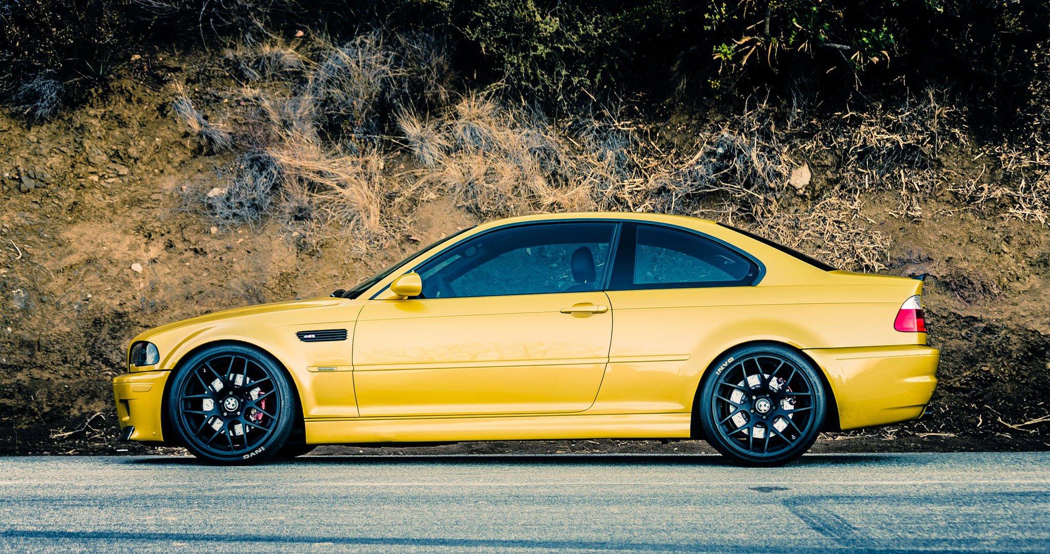 BMW M3 Желтое  № 844738 загрузить